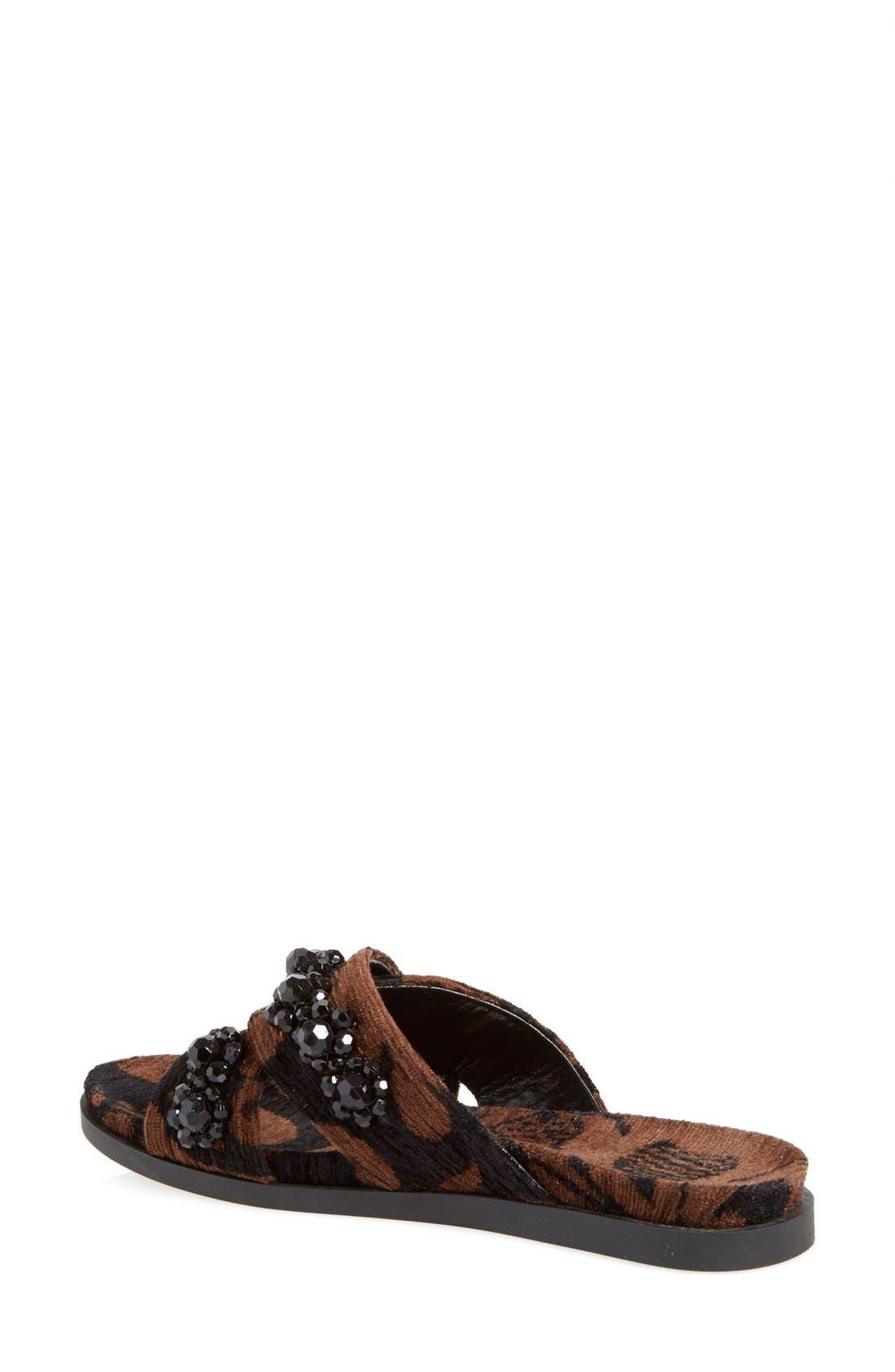 Alternate Image 2  - Simone Rocha Jeweled Slip-On Sandal (Women)