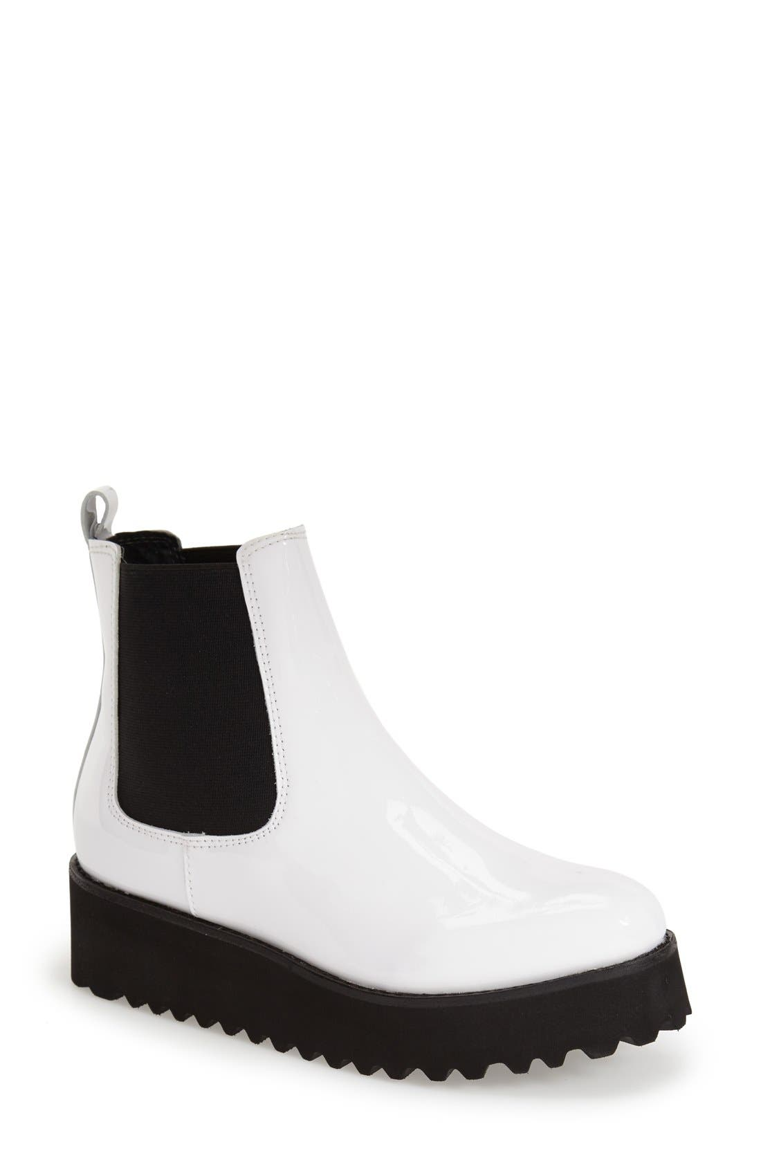 Alternate Image 1 Selected - Jeffrey Campbell 'Zayden' Platform Chelsea Boot (Women)