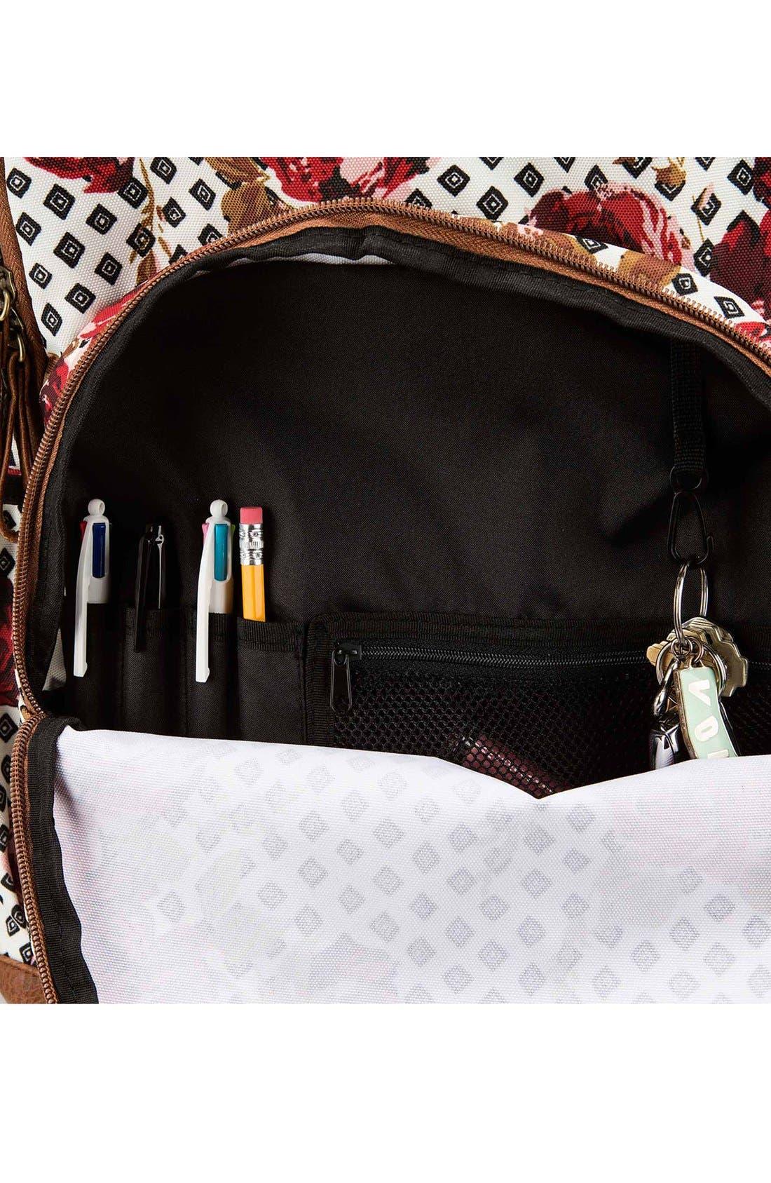 Alternate Image 4  - Volcom 'Fieldtrip' Print Backpack