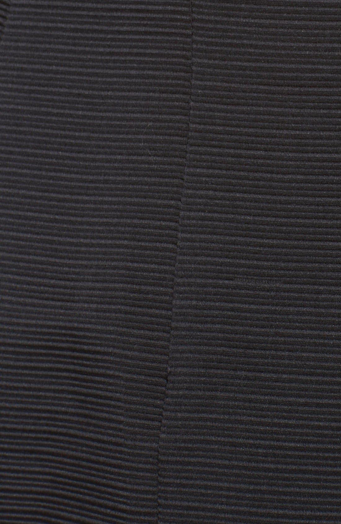 Alternate Image 3  - katespade textured fit & flare bow detaildress