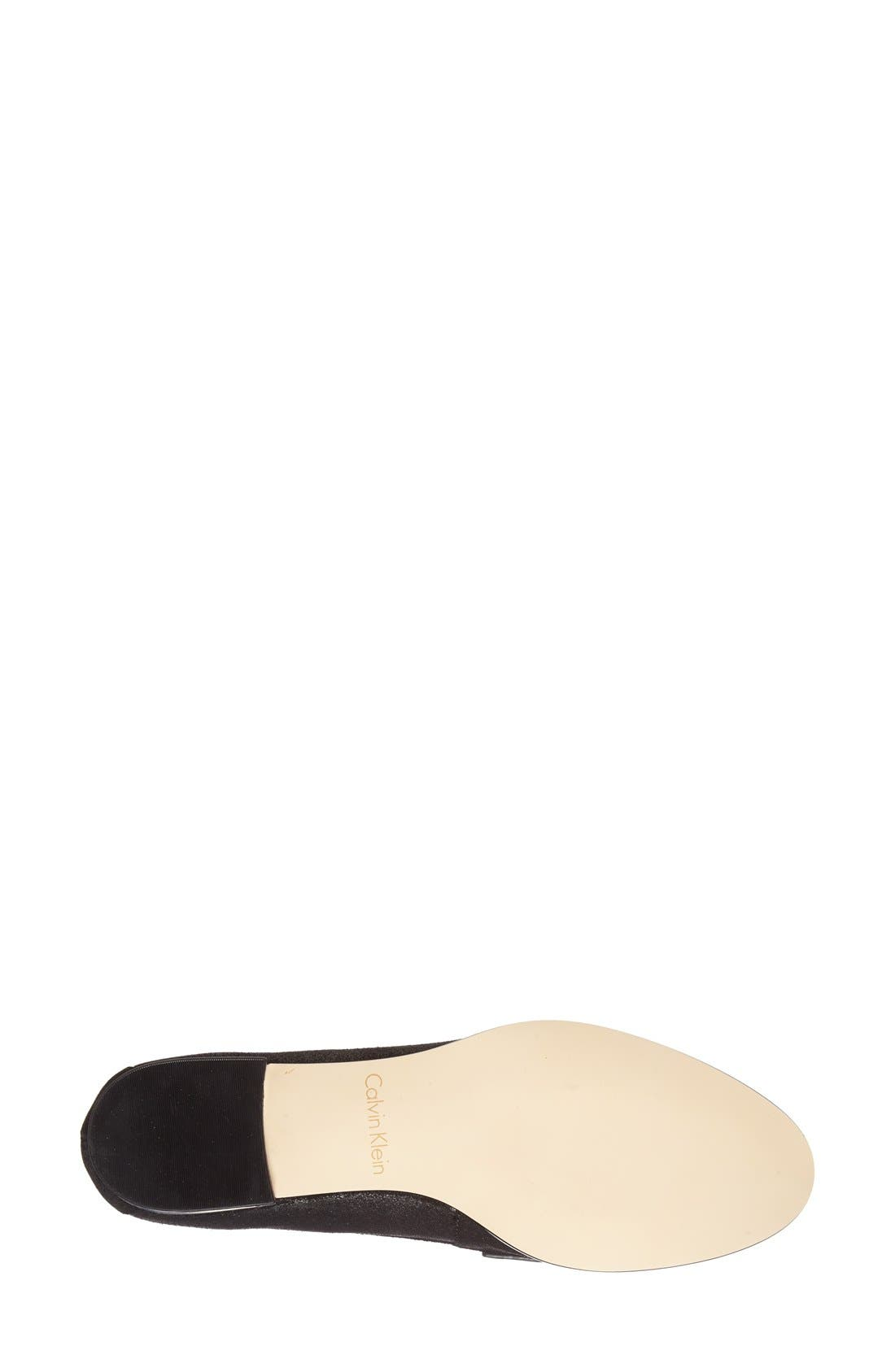 Alternate Image 4  - Calvin Klein 'Celia' Penny Loafer (Women)