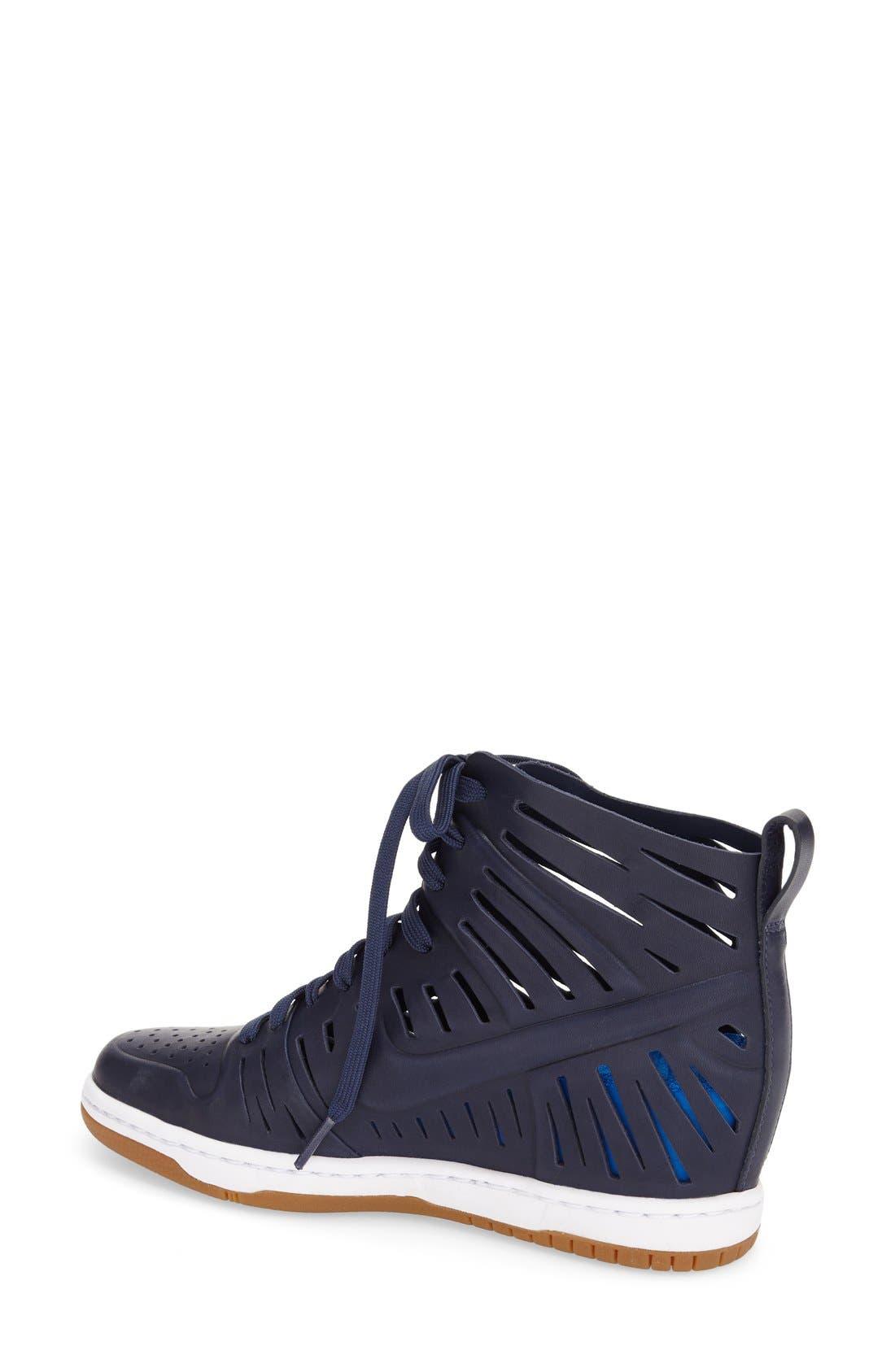 Alternate Image 2  - Nike 'Dunk Sky Hi Joli' Hidden Wedge Sneaker (Women)