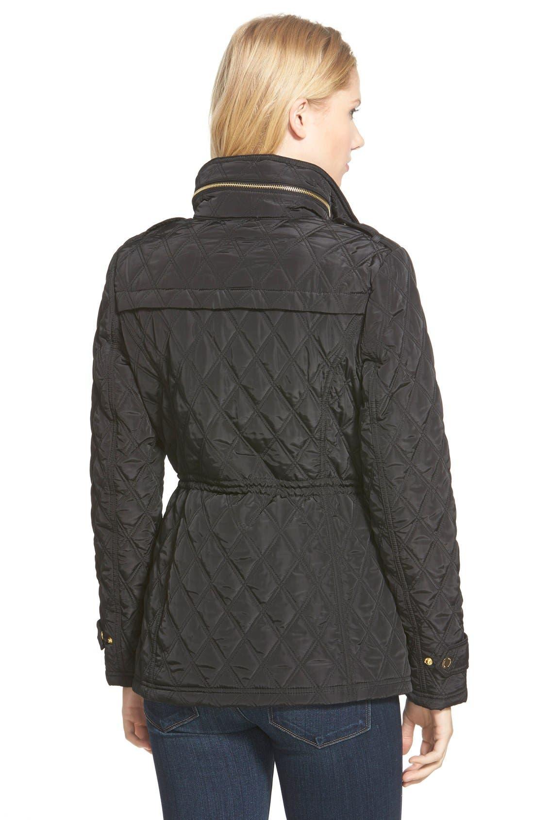 Alternate Image 2  - MICHAEL Michael Kors Quilted Field Jacket