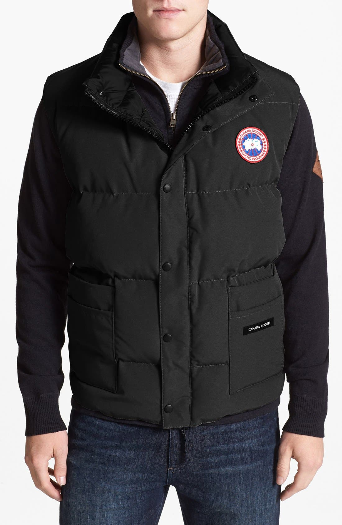 CANADA GOOSE 'Freestyle' Water Resistant Regular Fit Down
