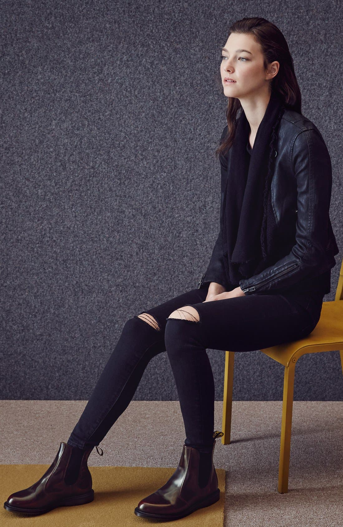 Alternate Image 3  - Dr. Martens 'Flora' Chelsea Boot (Women)