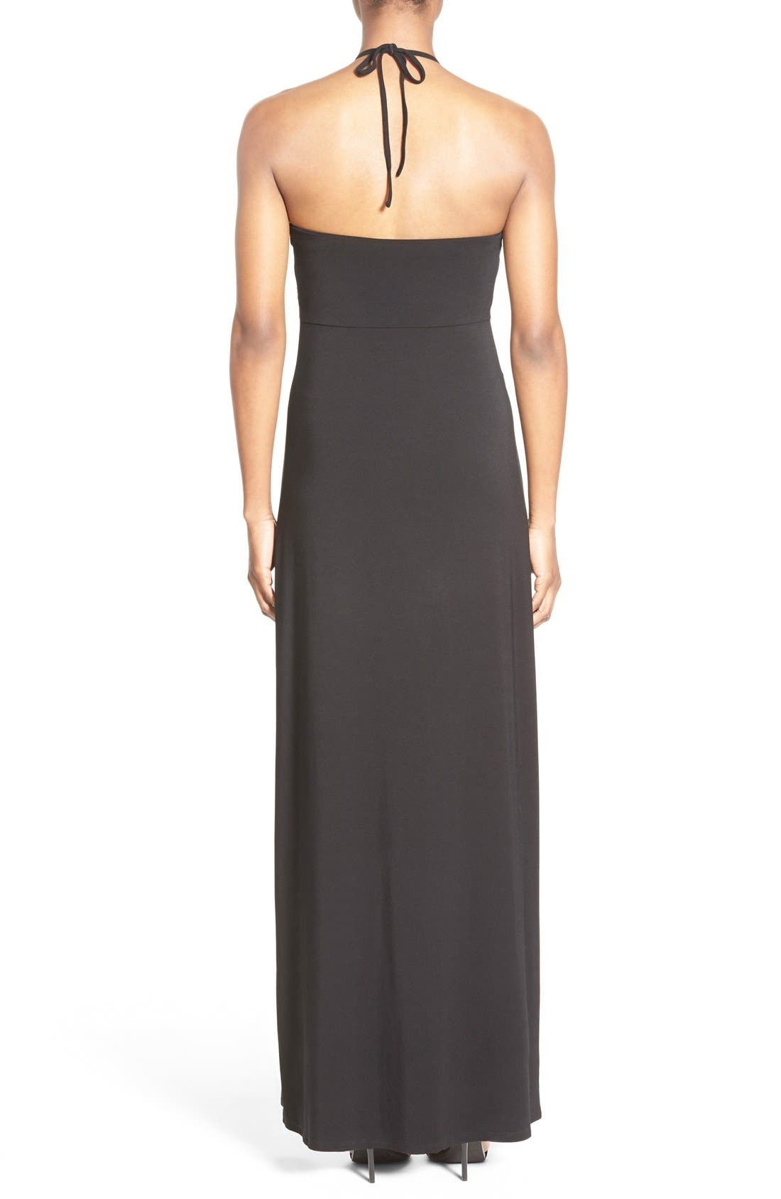 Alternate Image 2  - Tommy Bahama Sequin Bodice Halter Maxi Dress