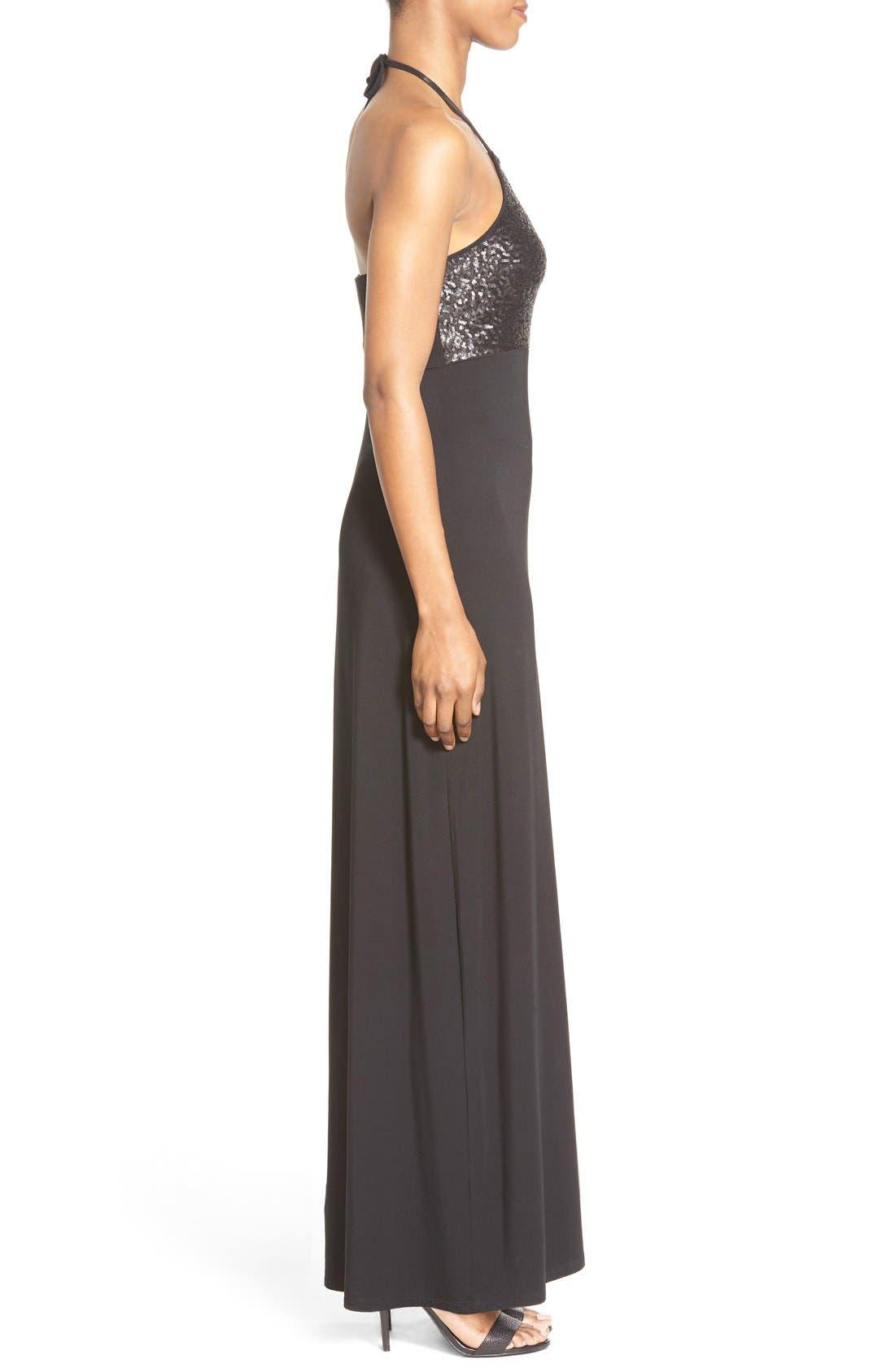 Alternate Image 3  - Tommy Bahama Sequin Bodice Halter Maxi Dress