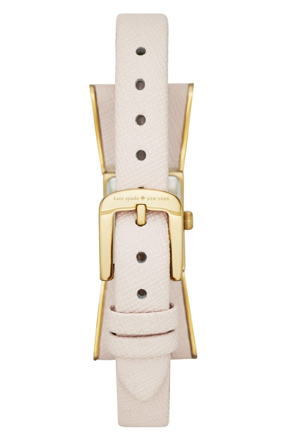 Alternate Image 2  - kate spade new york 'kenmare' bow case watch, 20mm