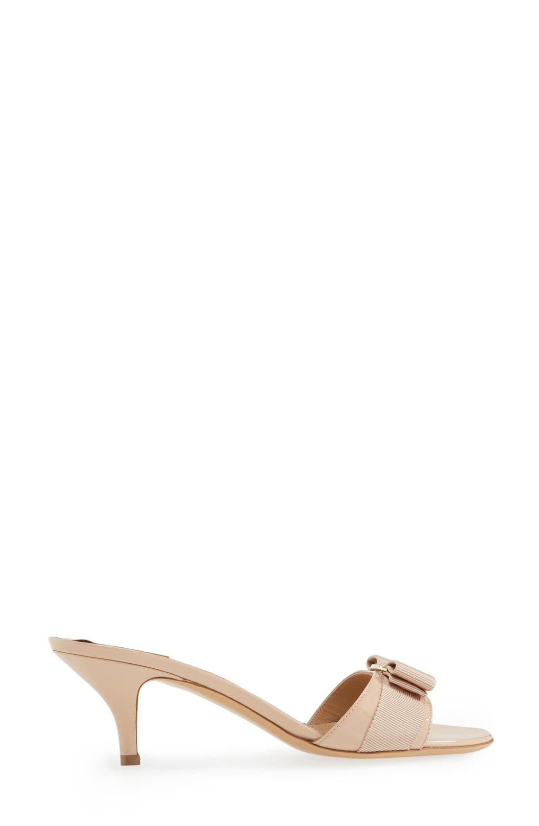 Alternate Image 4  - Salvatore Ferragamo 'Glory' Bow Trim Sandal