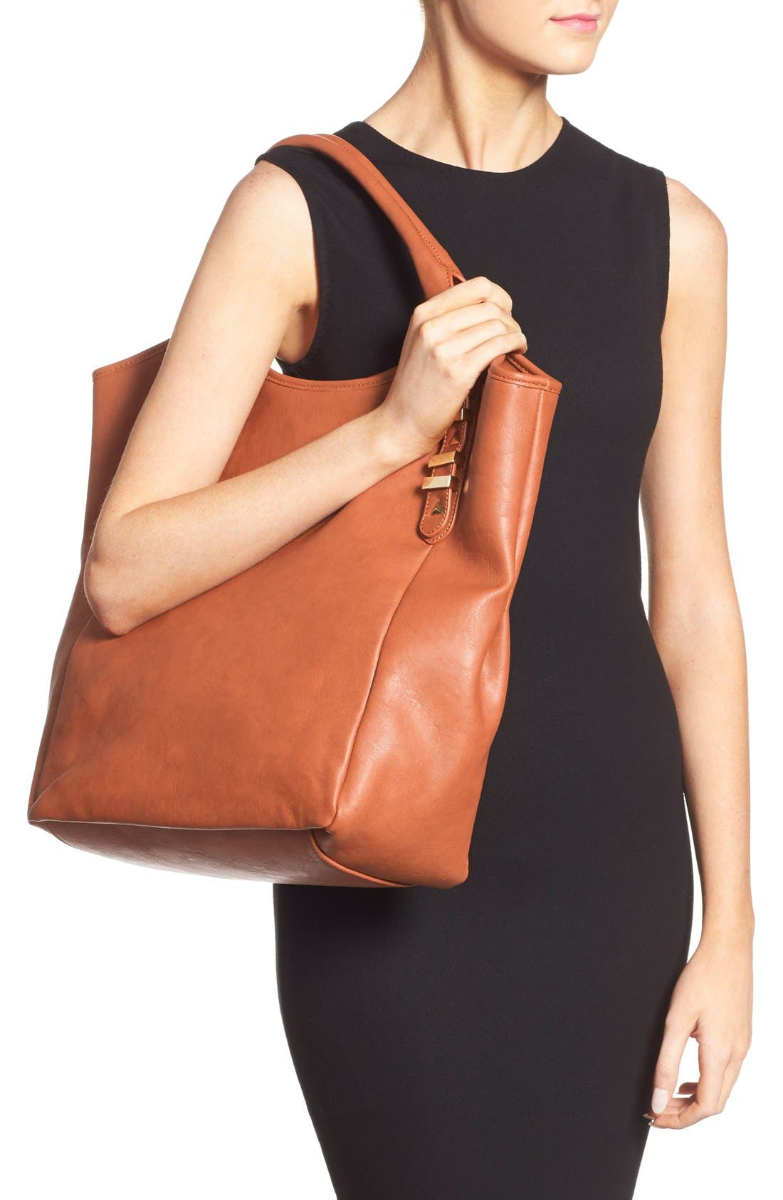 Alternate Image 2  - Emperia Faux Leather Tote