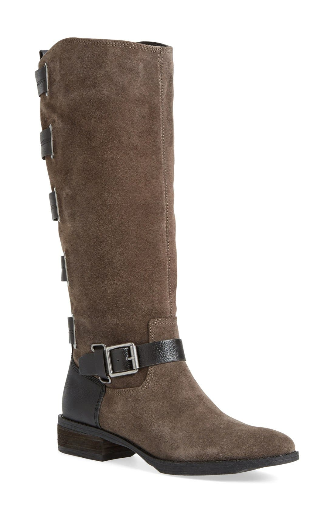 Main Image - Sole Society 'Franzie' Leather Knee High Boot