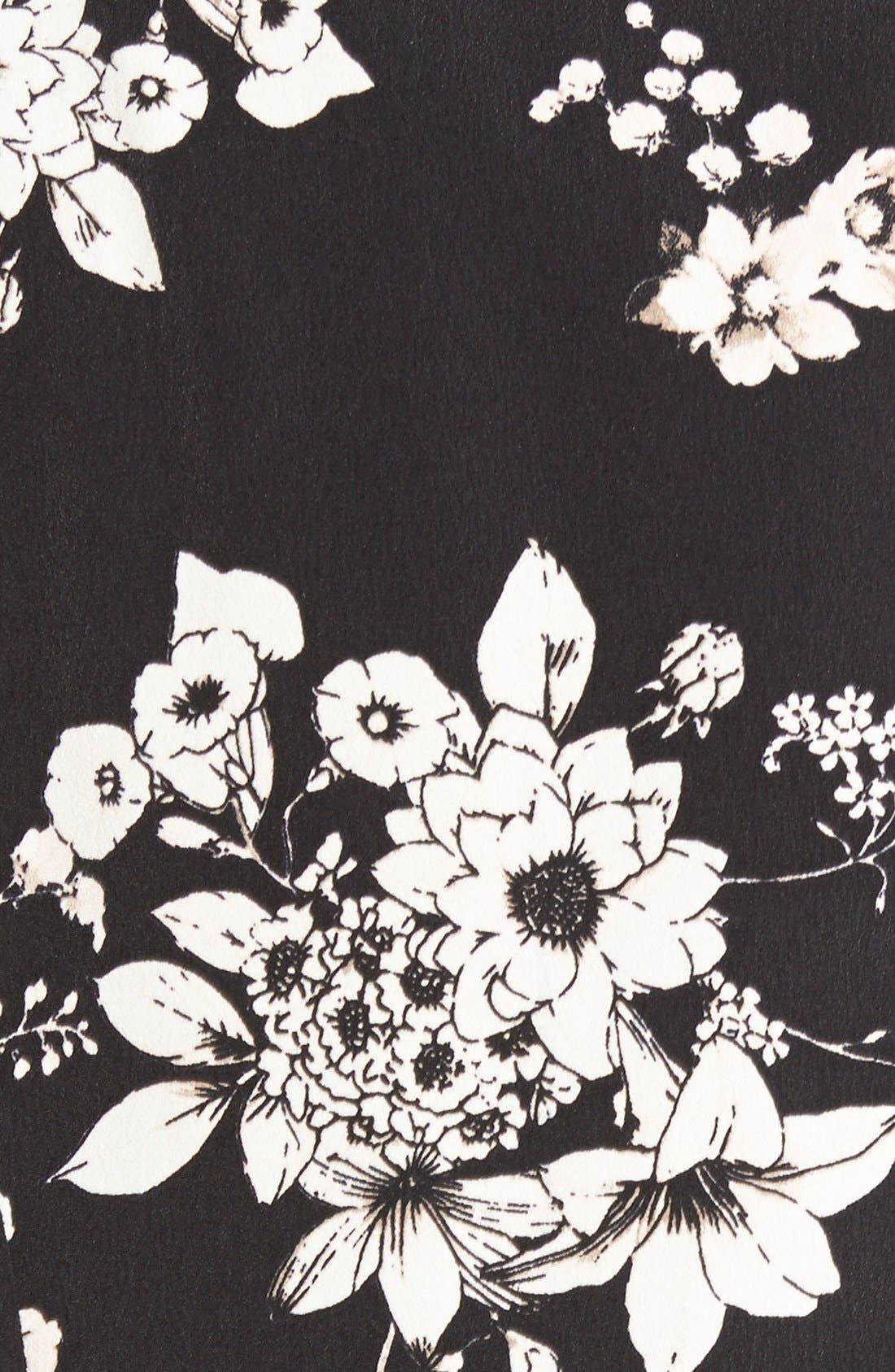 Alternate Image 5  - ASTR Floral Print Blazer