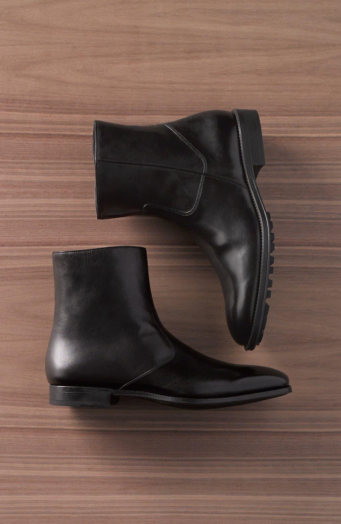 Alternate Image 13  - Magnanni Donosti Zip Boot (Men)