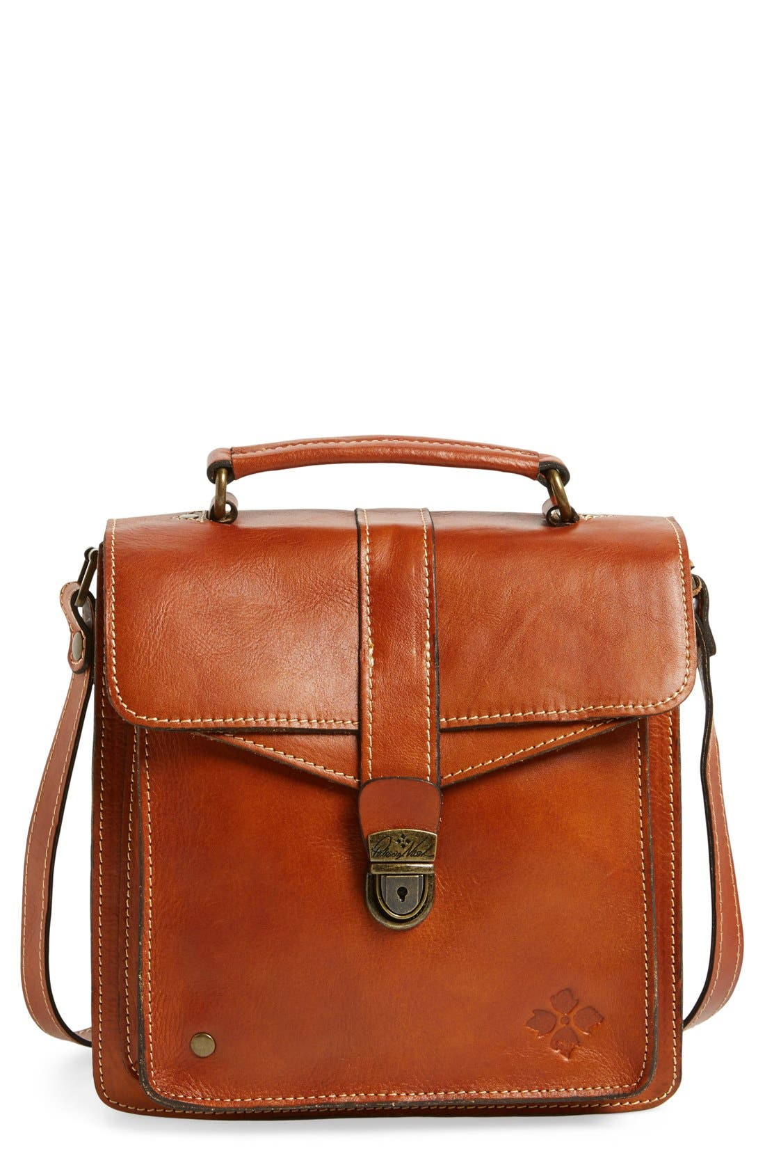 Alternate Image 1 Selected - Patricia Nash 'Toledo' Leather Crossbody Bag