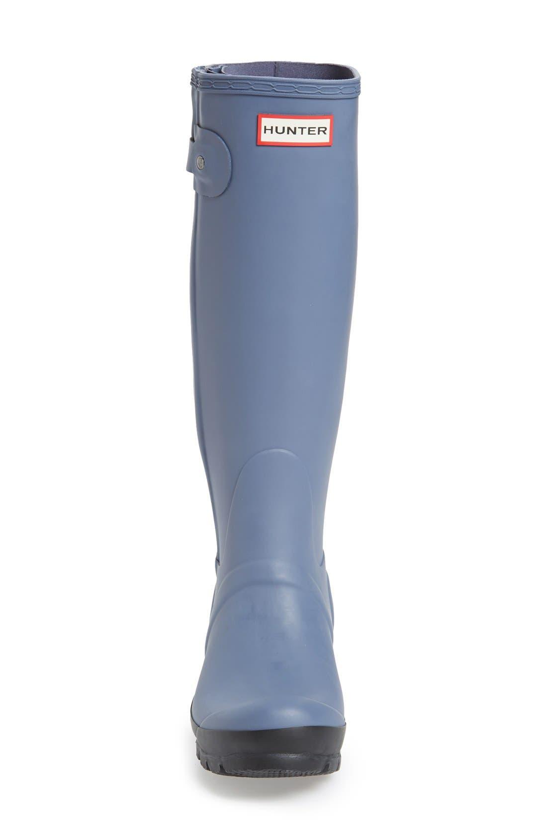 Alternate Image 3  - Hunter 'Original Slim' Two-Tone Rubber Rain Boot (Women)