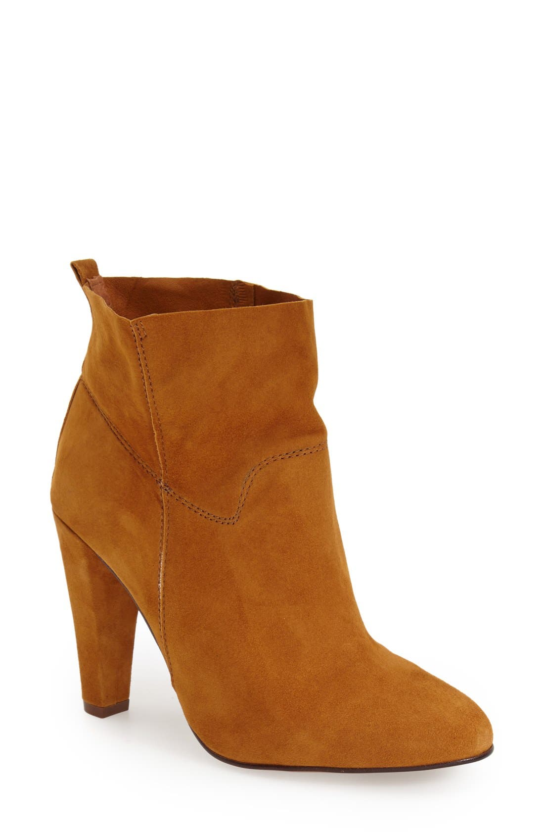 Alternate Image 1 Selected - Topshop 'Hourglass' Ankle Bootie (Women)