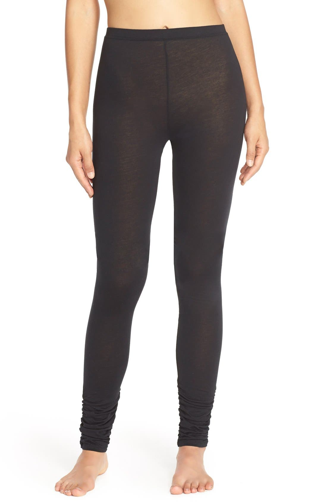 Alternate Image 1 Selected - Yummie by Heather Thomson Shirred Cuff Leggings