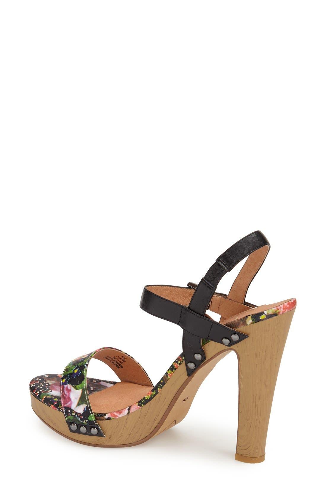 Alternate Image 2  - Halogen® 'Viv' Platform Sandal (Women)