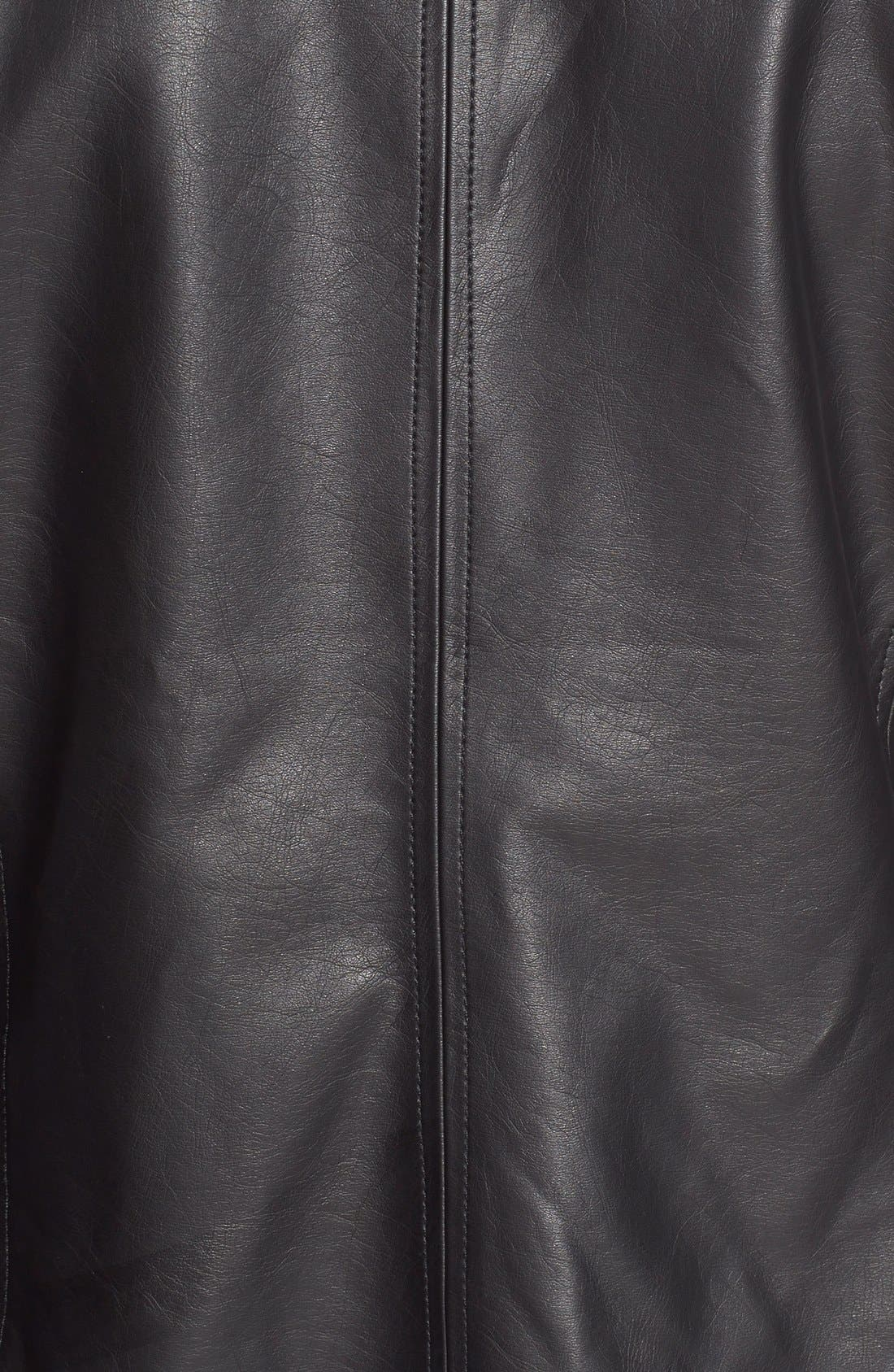 Alternate Image 5  - cupcakes and cashmere 'Helena' Faux Leather Jacket