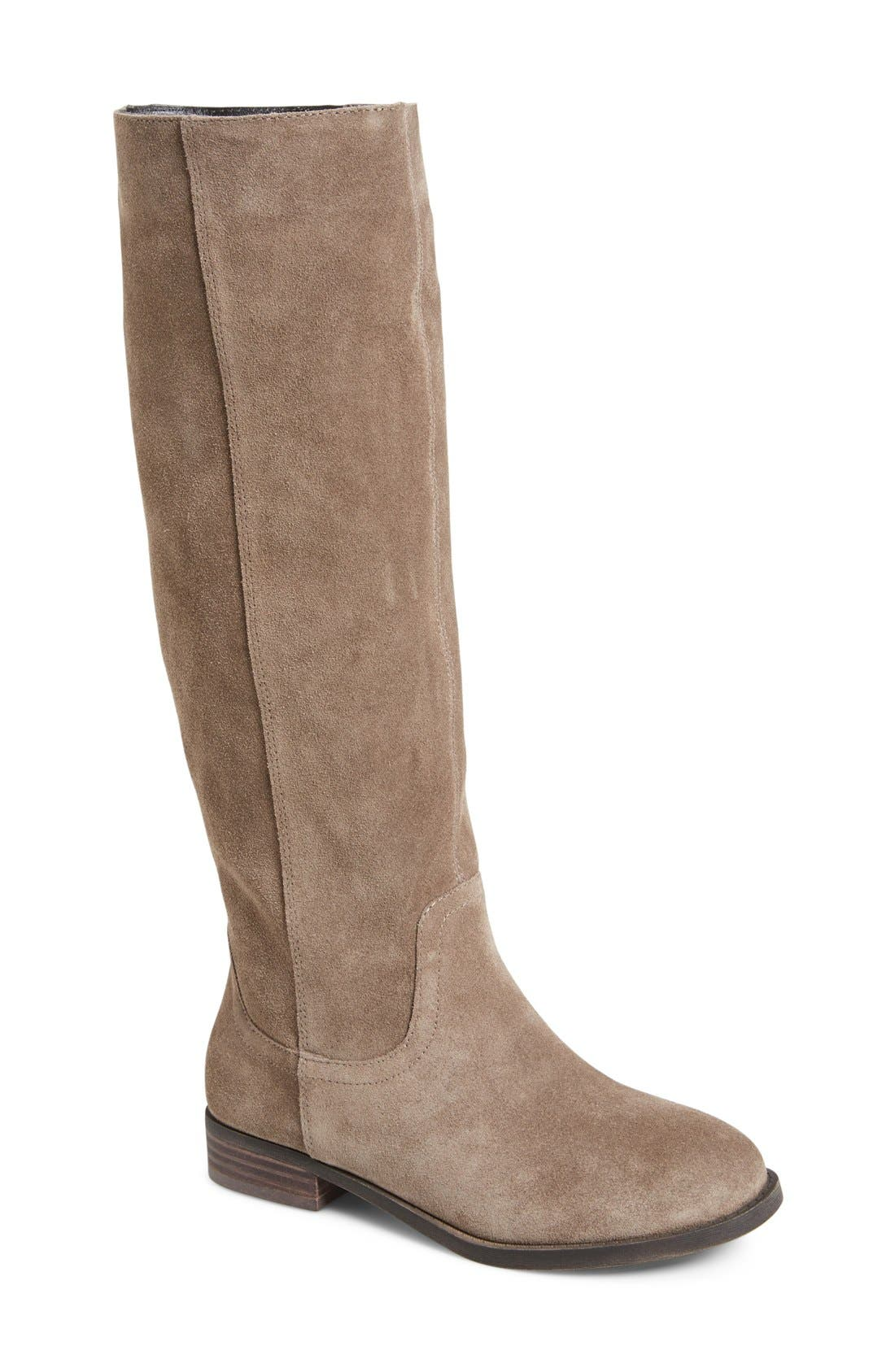 Alternate Image 1 Selected - Sole Society 'Kellini' Suede Knee High Boot (Women)