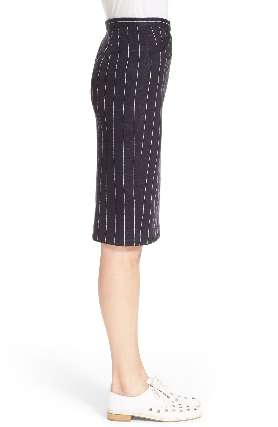 Alternate Image 3  - ATM Anthony Thomas Melillo Stripe Pencil Skirt