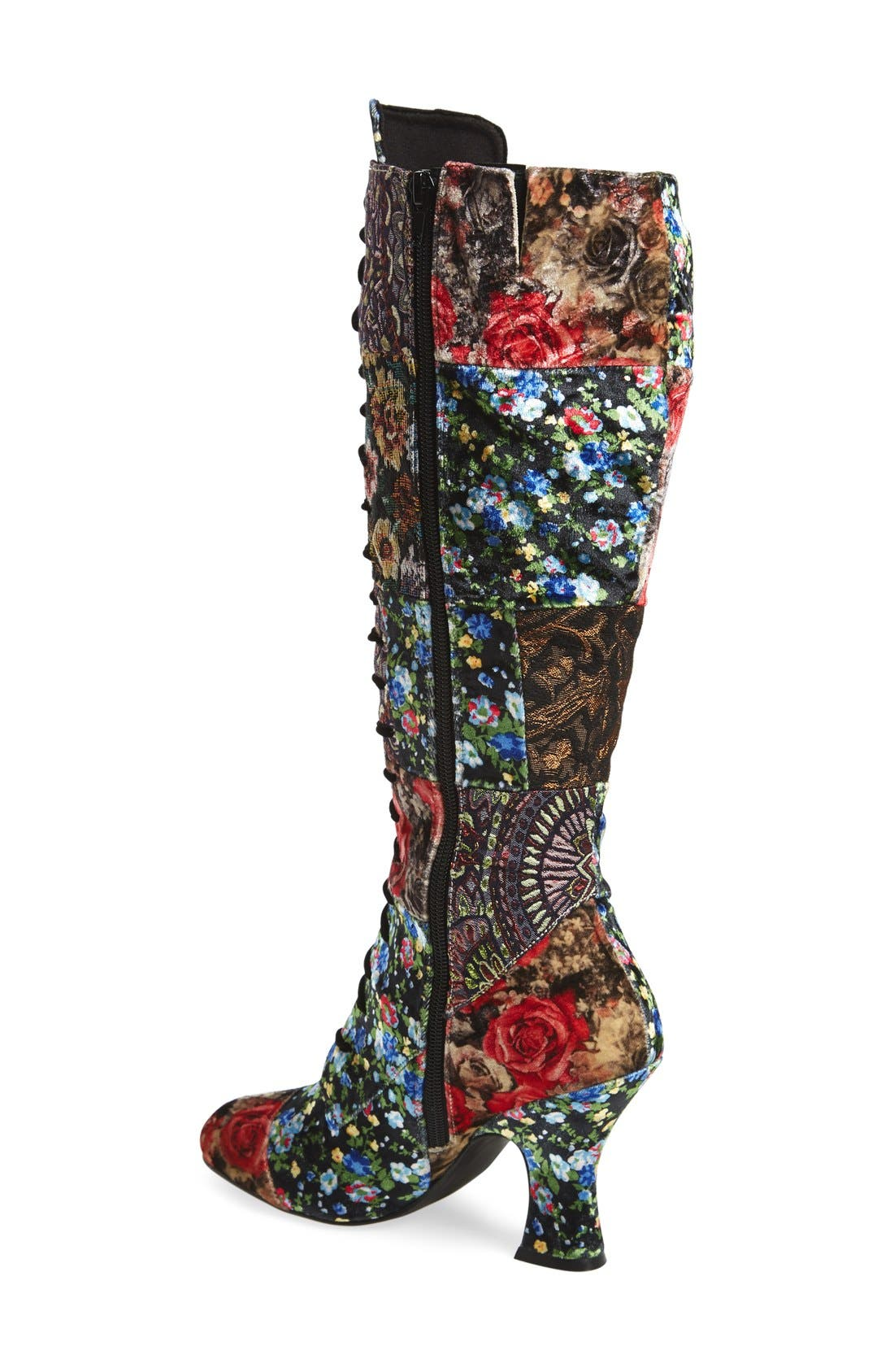 Alternate Image 2  - Jeffrey Campbell 'Jestyne' Lace-Up Tall Boot (Women)