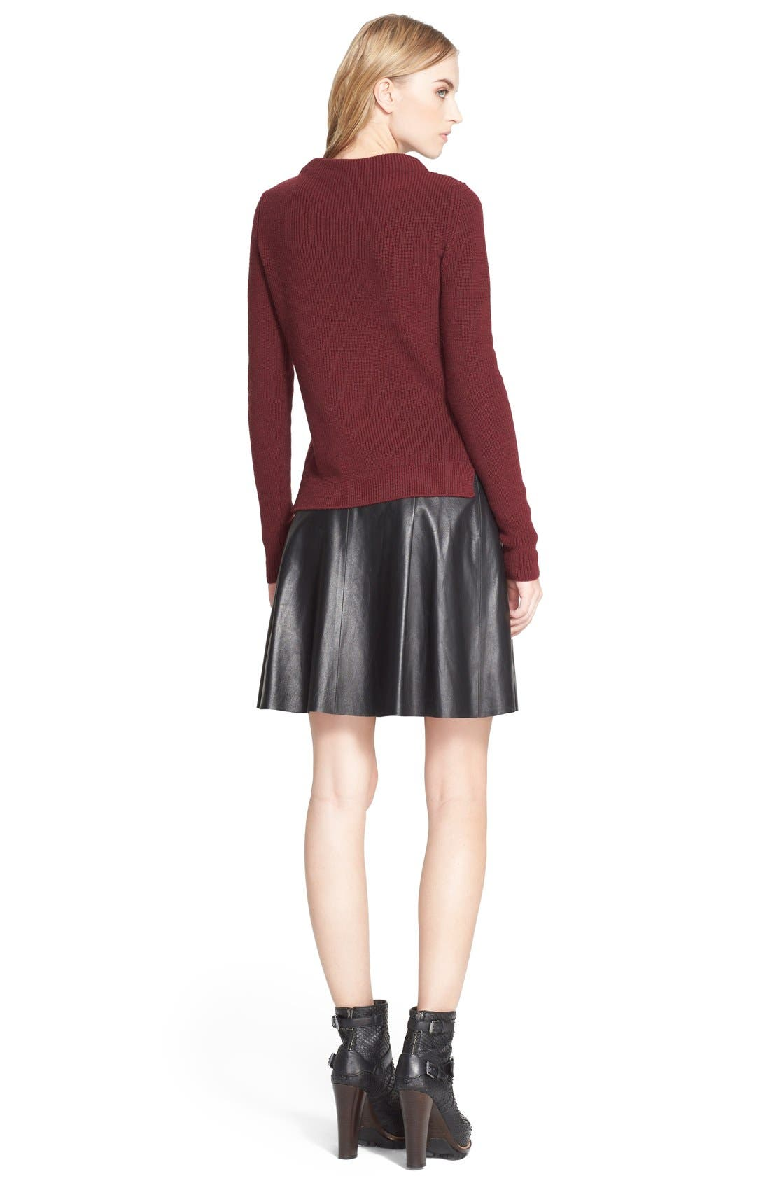 Alternate Image 2  - Belstaff 'Baylee' Zip Detail Wool Sweater