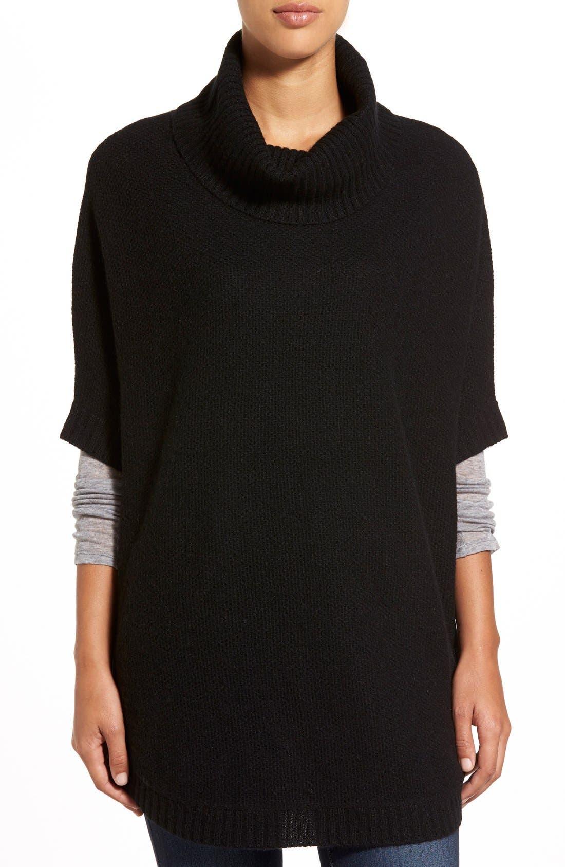 Alternate Image 1 Selected - Nordstrom Cashmere Turtleneck Sweater