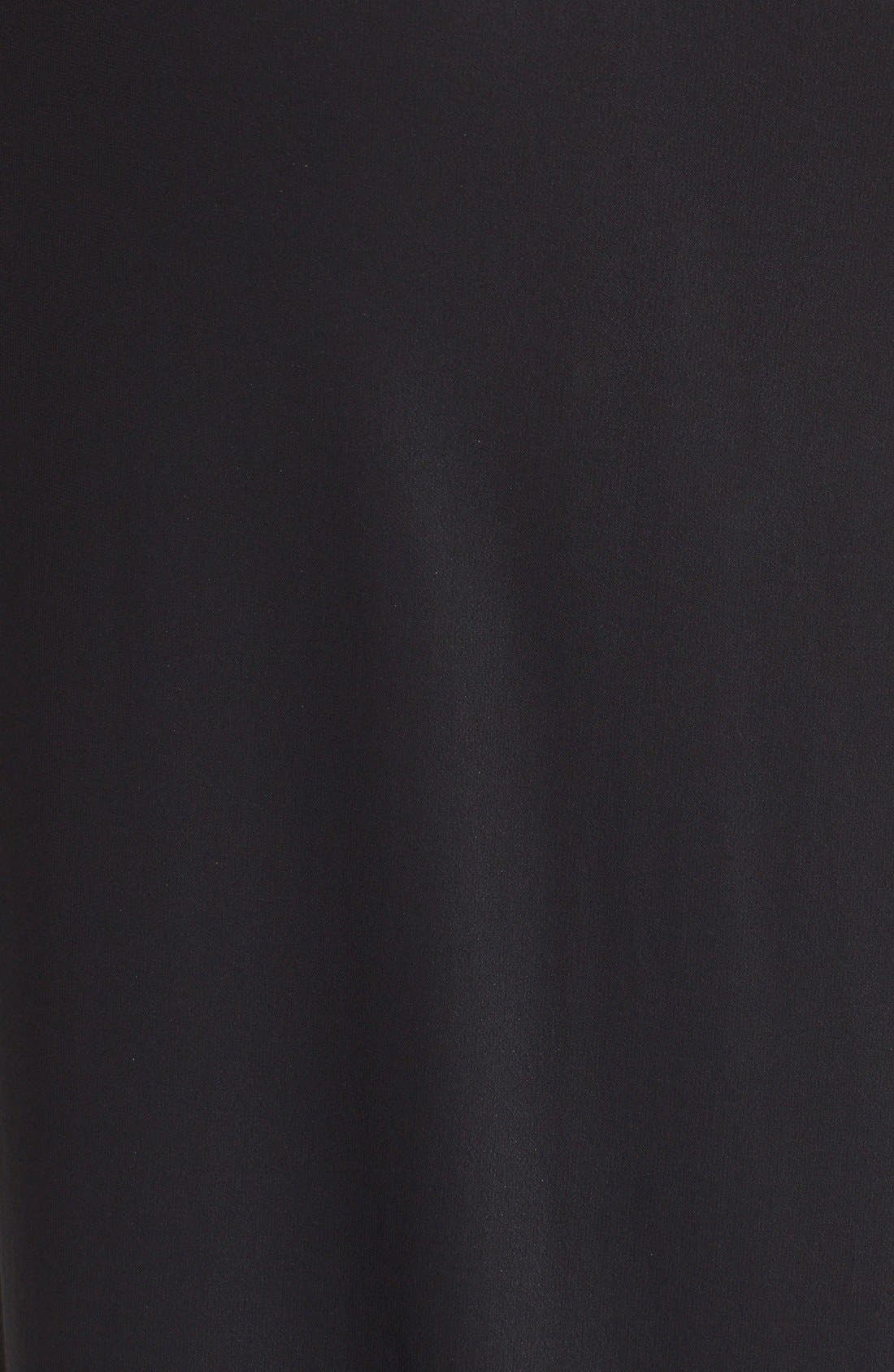 Alternate Image 3  - Donna Karan New York Crepe Flutter Maxi Skirt