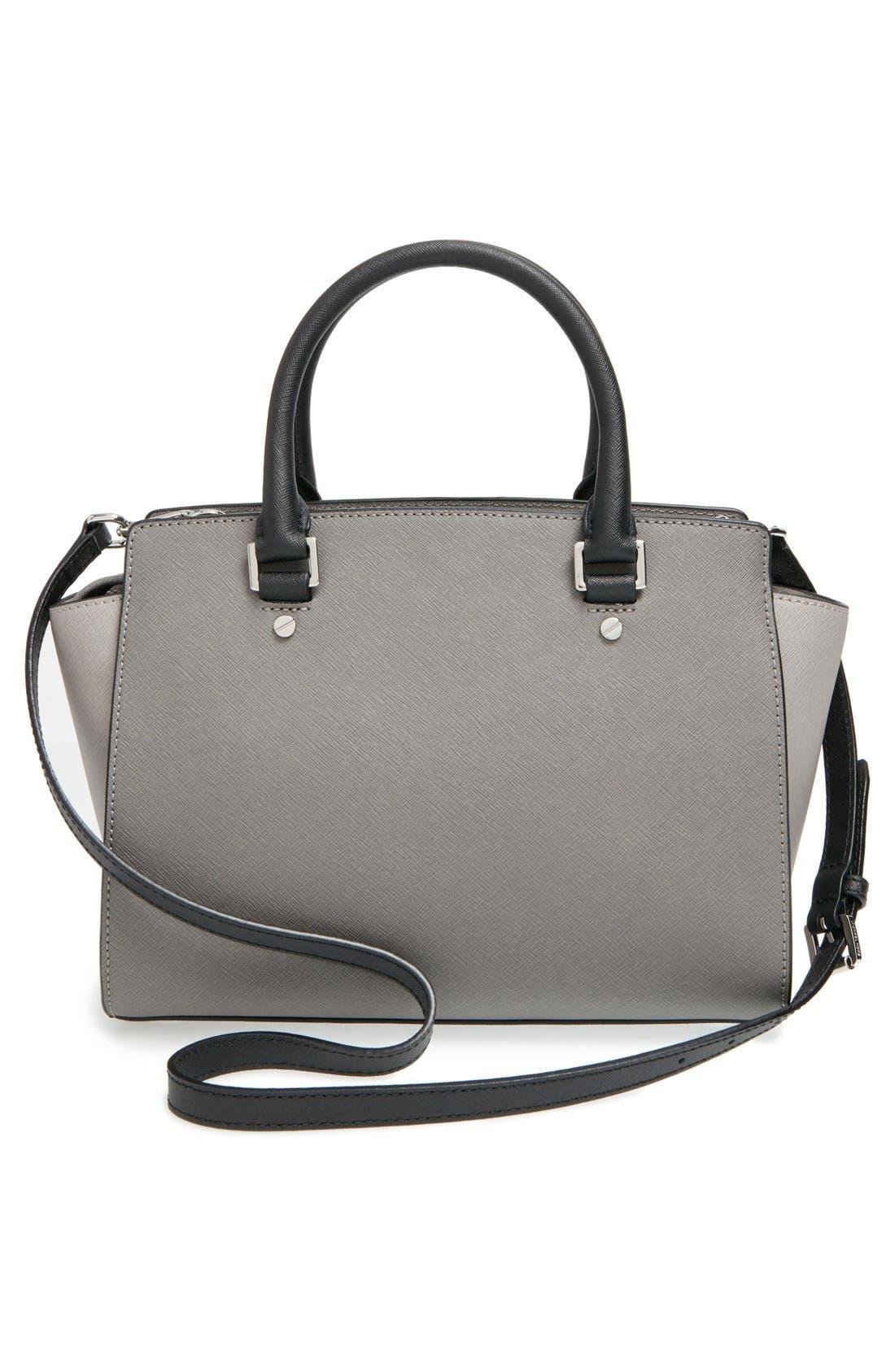 Alternate Image 3  - MICHAEL Michael Kors 'Selma - Medium' Saffiano Leather Crossbody Bag