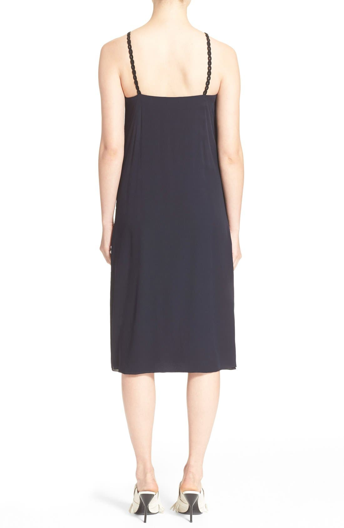 Alternate Image 2  - 3.1 Phillip Lim Passementerie Strap Silk Dress