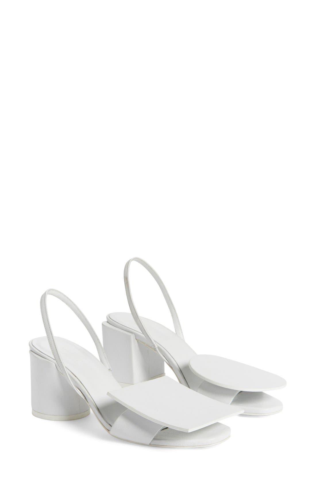 Main Image - Jacquemus 'Rond Carré' Slingback Sandal (Women)