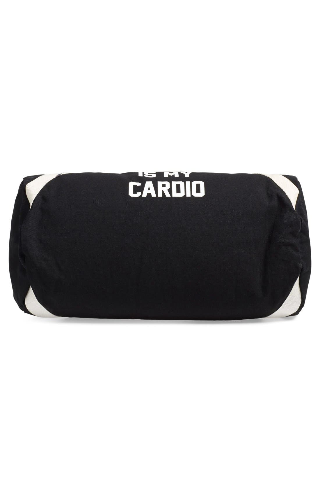 Alternate Image 3  - Private Party 'Turning Up Is My Cardio' Duffel Bag
