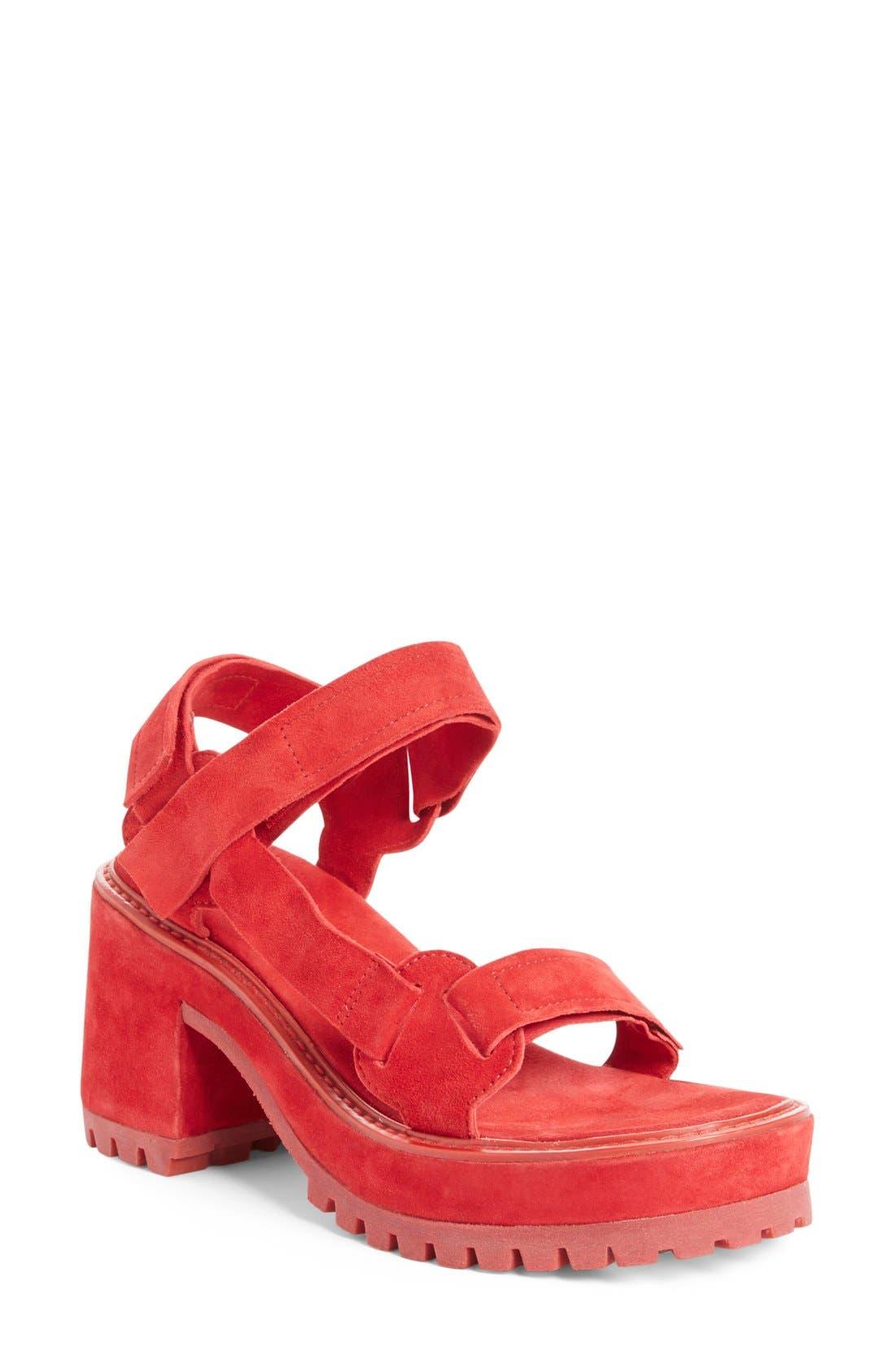 Alternate Image 1 Selected - Marques'Almeida Chunky Heel Sandal (Women)