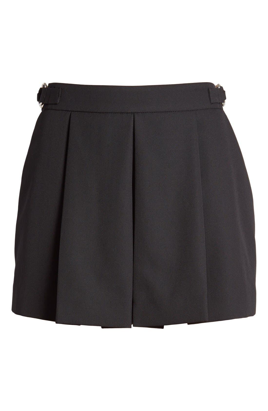 Alternate Image 4  - Alexander Wang Pleated Wool Shorts