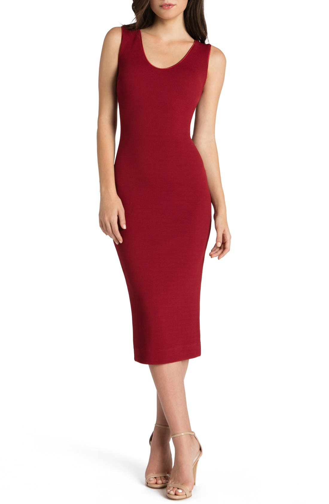 DRESS THE POPULATION Cori Stretch Body-Con Dress