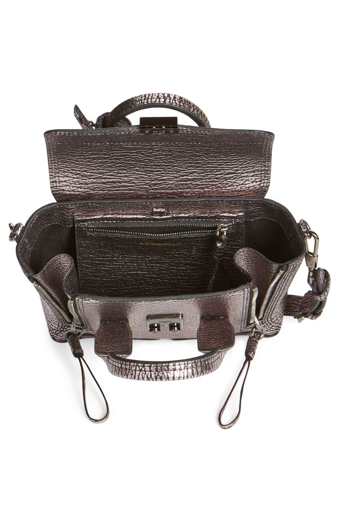 Alternate Image 3  - 3.1 Phillip Lim 'Mini Pashli' Metallic Leather Satchel