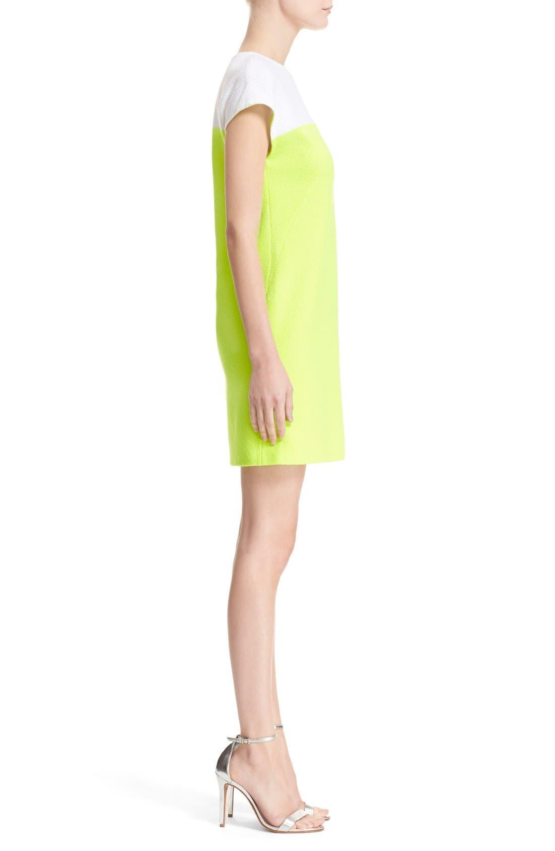 Alternate Image 5  - St. John Collection 'Nouveau' Colorblock Knit Shift Dress