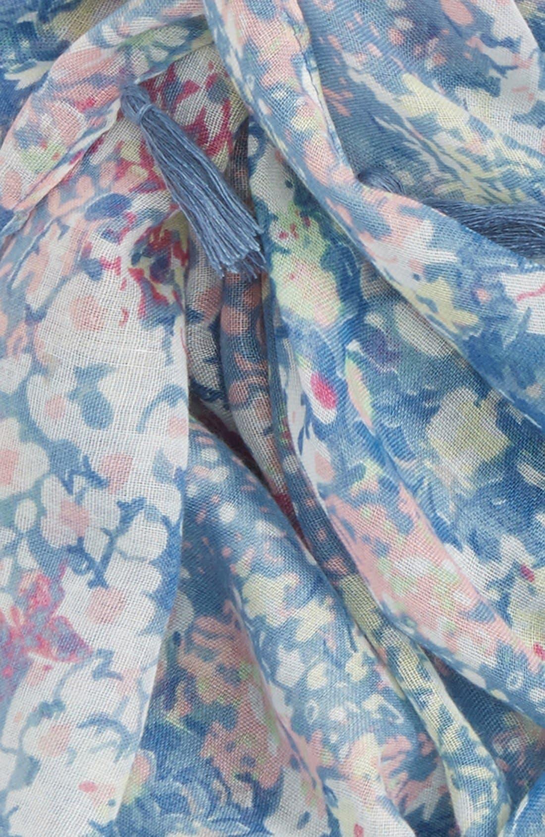 Alternate Image 3  - BP. Floral Print Infinity Scarf