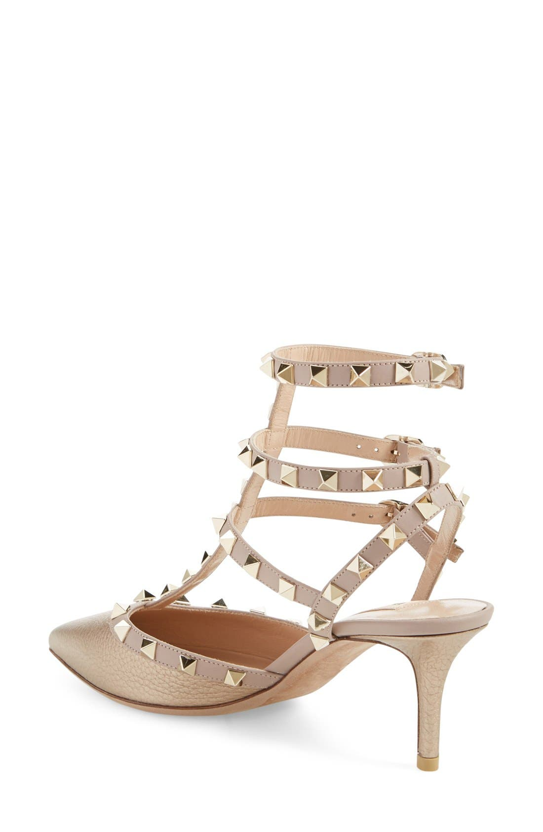 Alternate Image 2  - Valentino 'Rockstud' T-Strap Pump (Women)