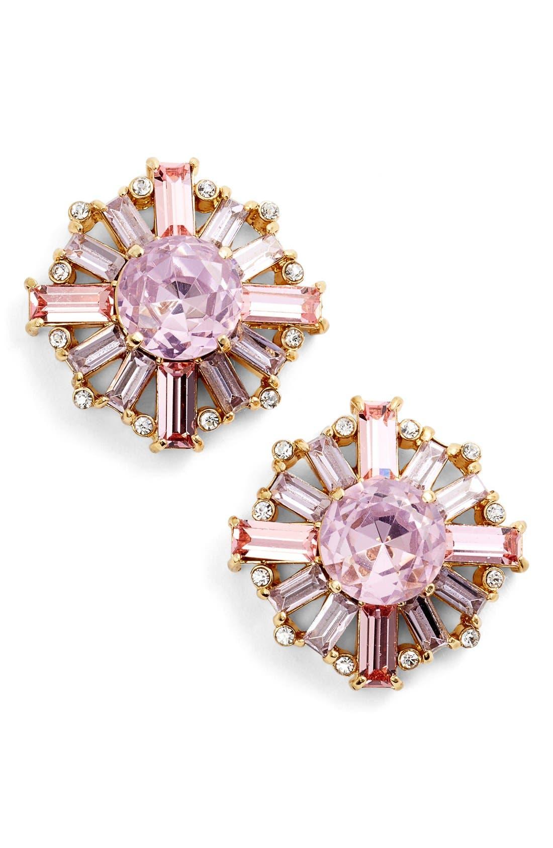 Alternate Image 1 Selected - kate spade new york crystal stud earrings
