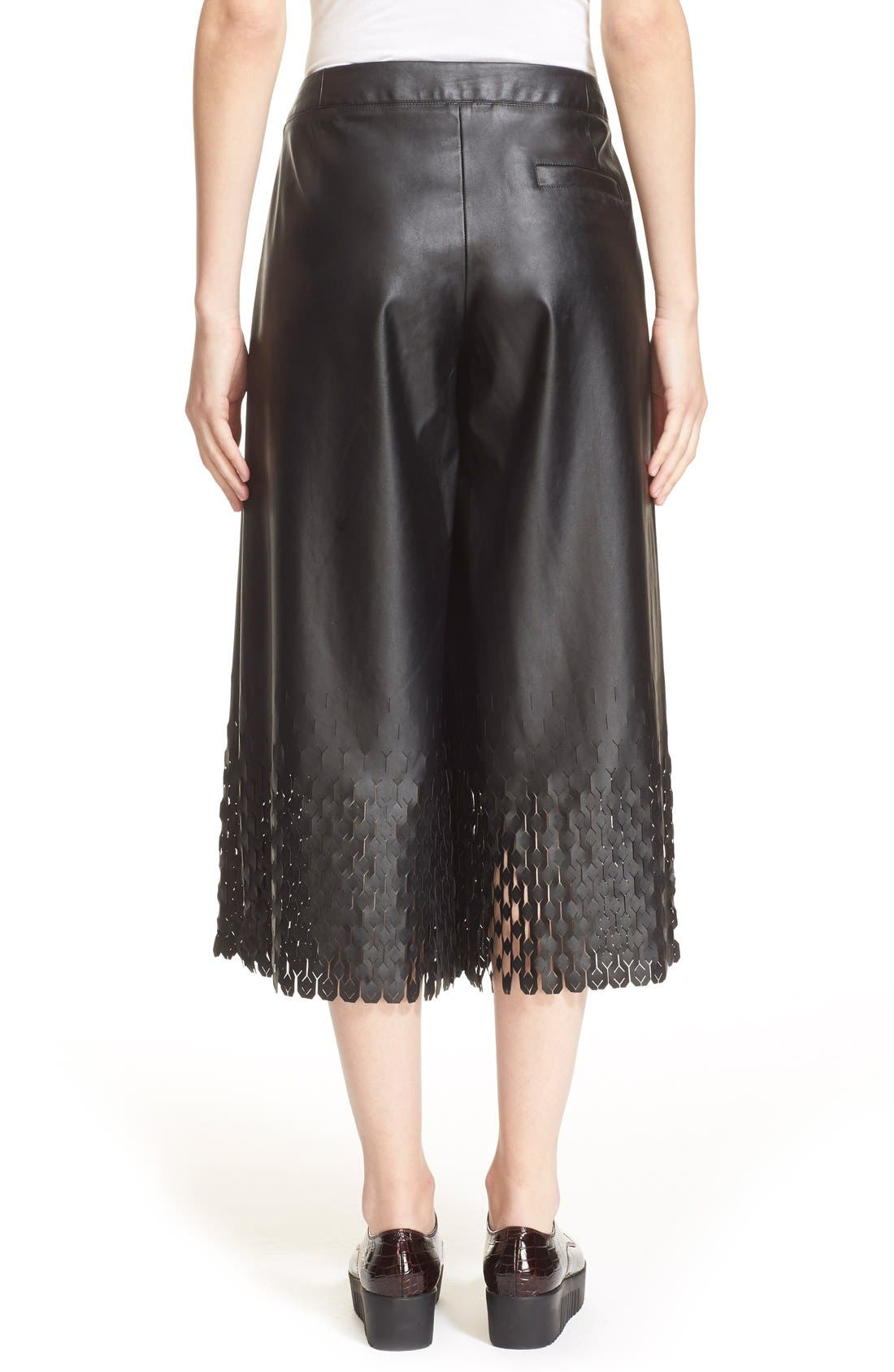 Alternate Image 2  - Opening Ceremony 'Tire Tread' Laser Cut Culottes