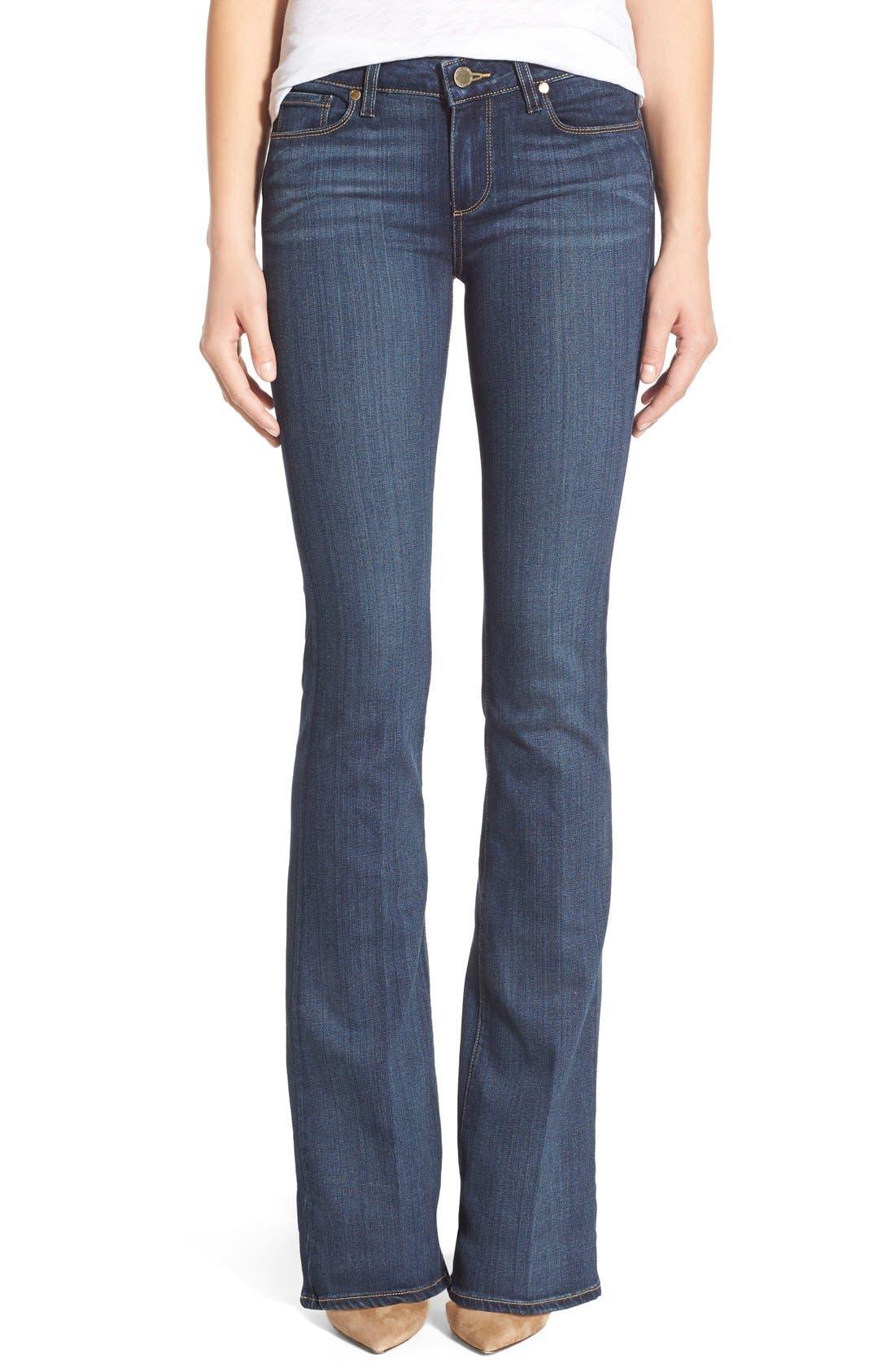 Alternate Image 1  - Paige Denim 'Transcend - Skyline' Bootcut Jeans (Vista)