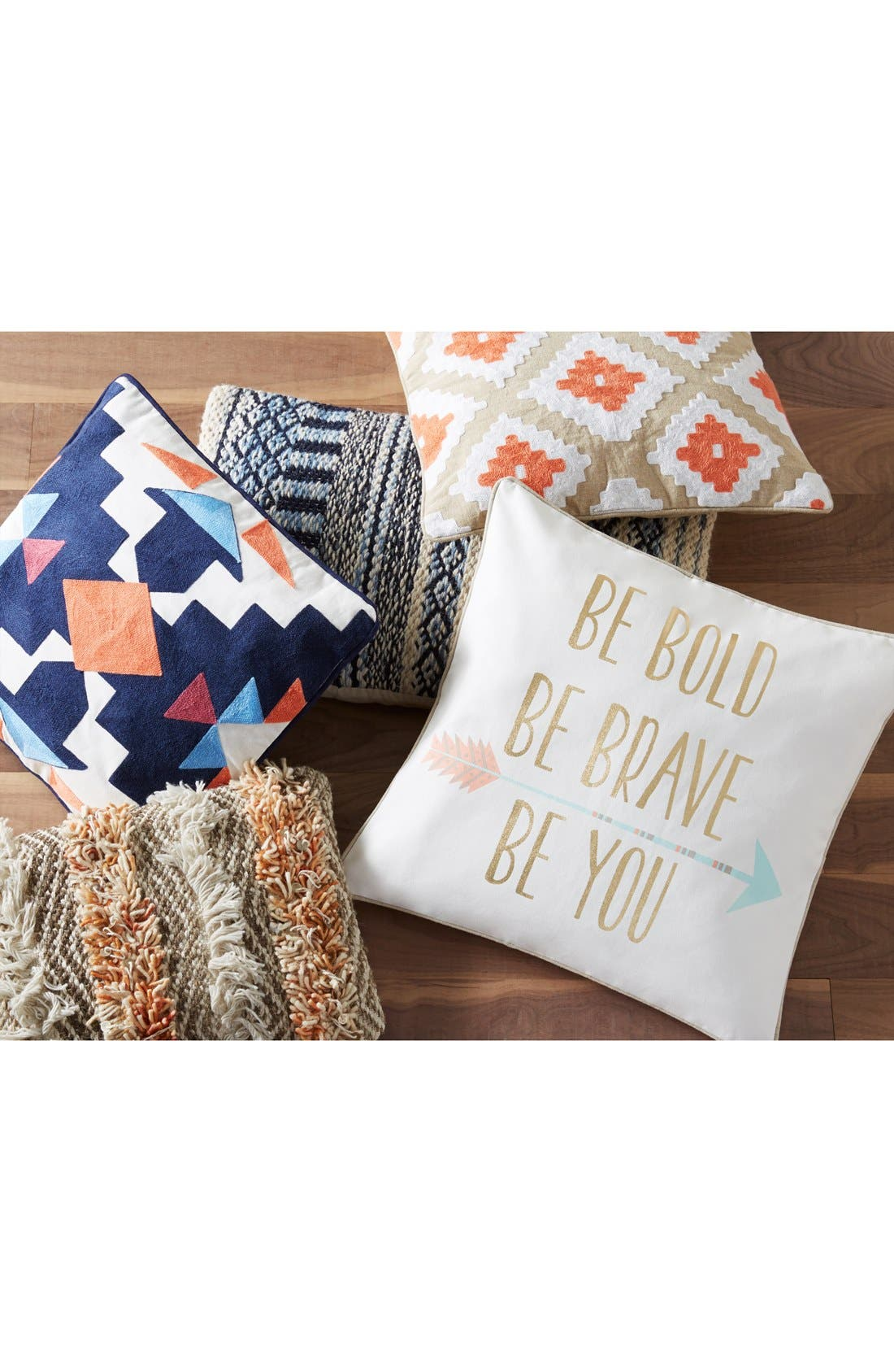 Alternate Image 4  - Levtex 'Be Bold, Be Brave, Be You' Pillow