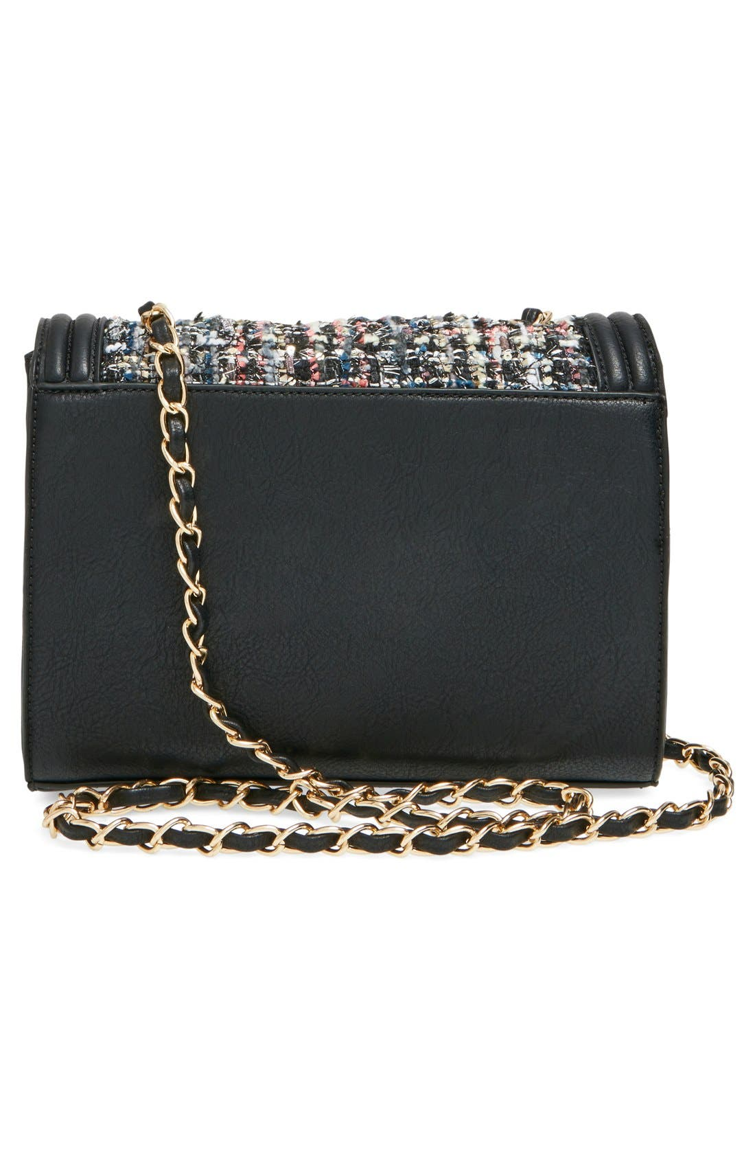 Alternate Image 3  - Sole Society 'Celeste' Quilted Sequin Crossbody Bag