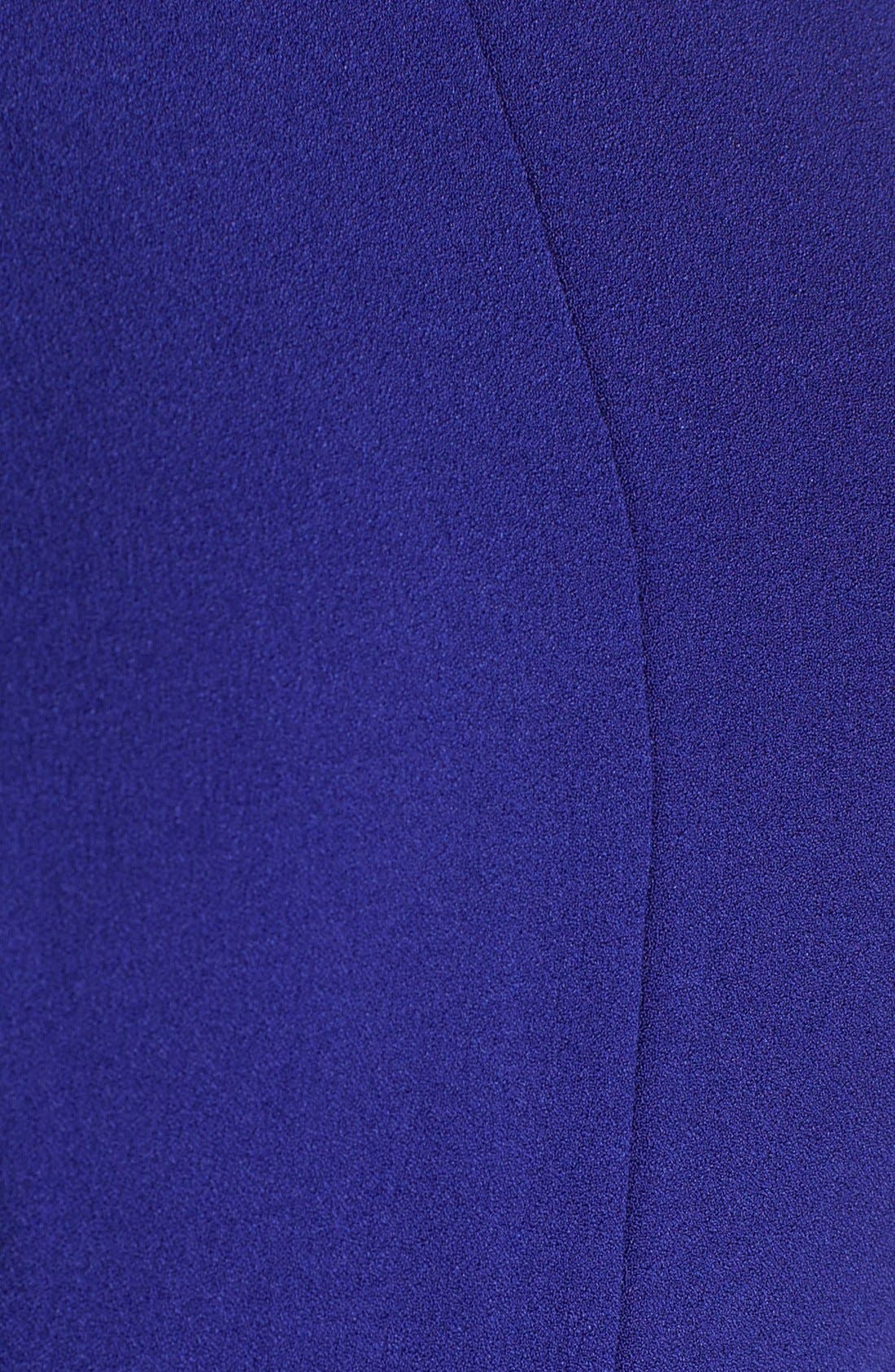 Alternate Image 5  - Vince Camuto Seamed Crepe Fit & Flare Dress (Regular & Petite)