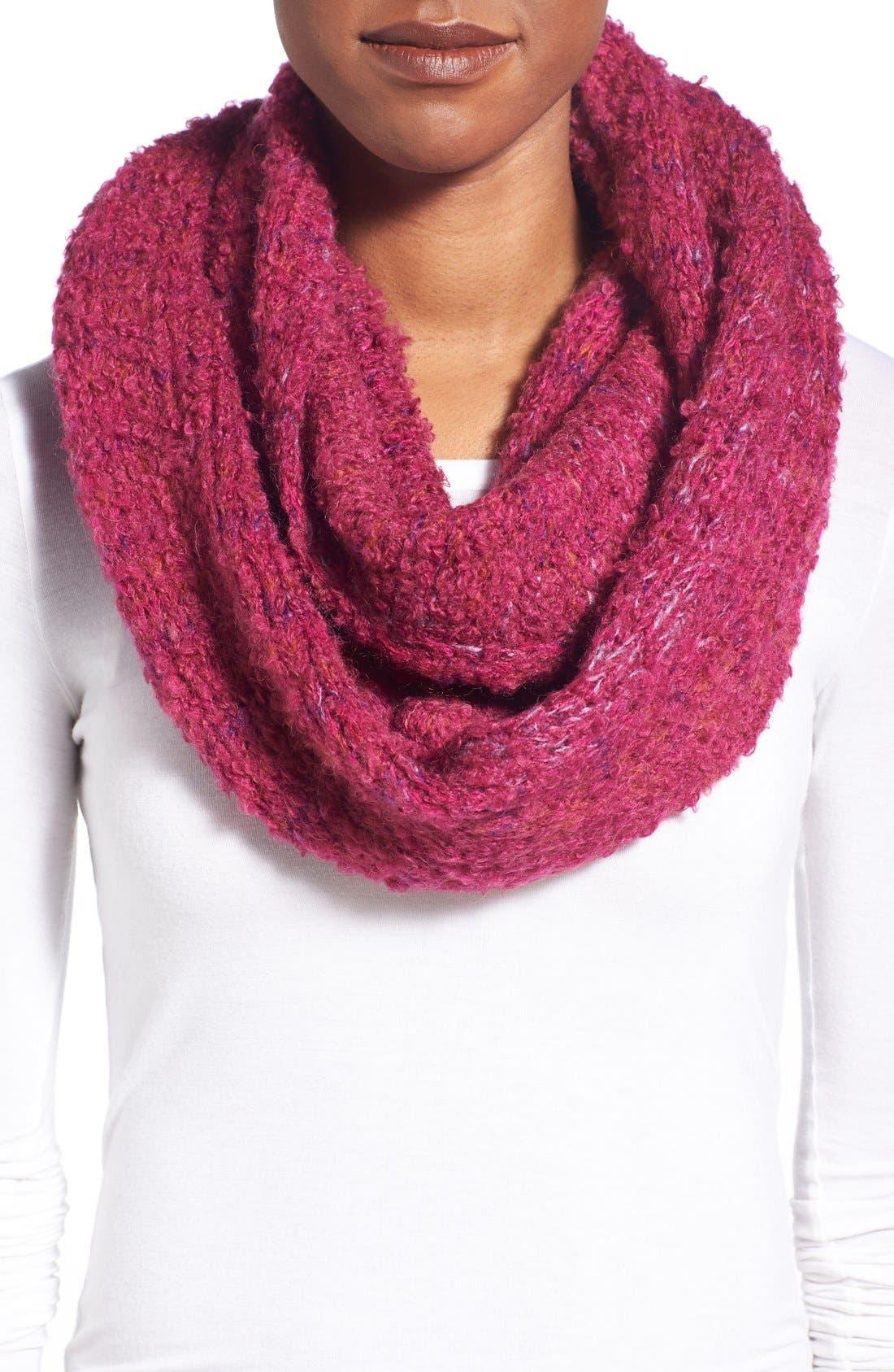 Alternate Image 1 Selected - Echo Bouclé Knit Infinity Scarf