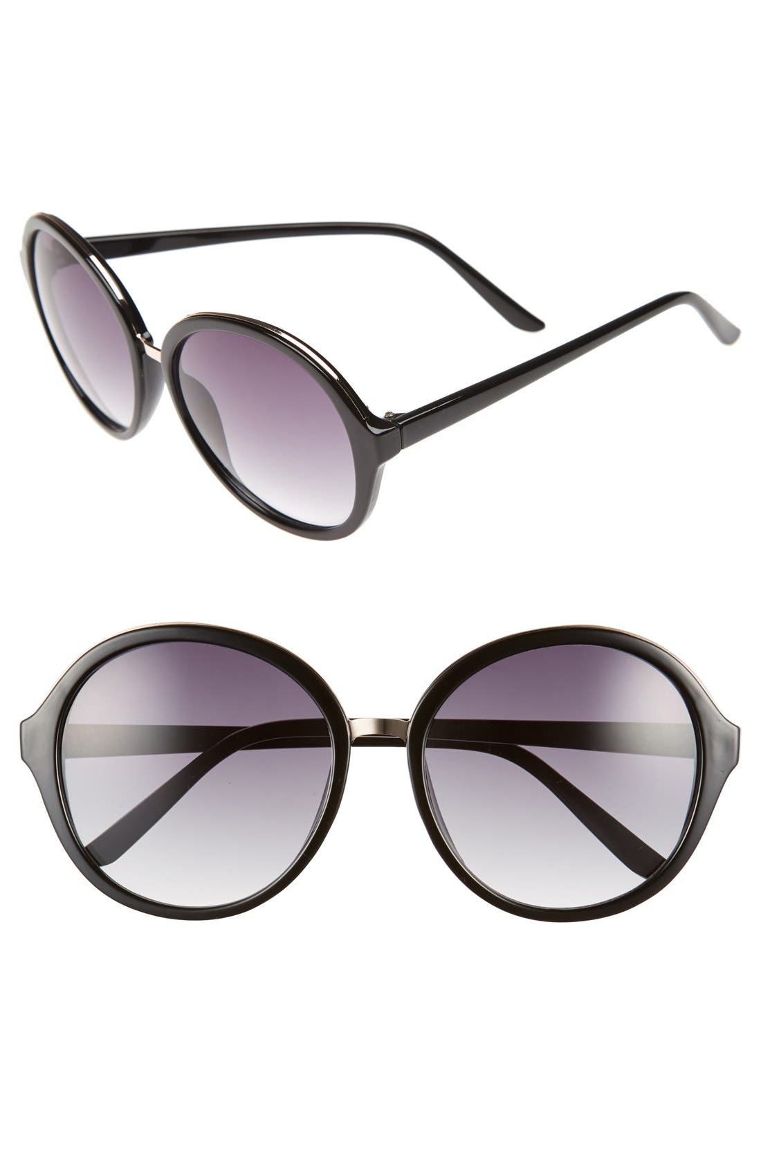 Main Image - BP. 60mm Oversized Round Sunglasses