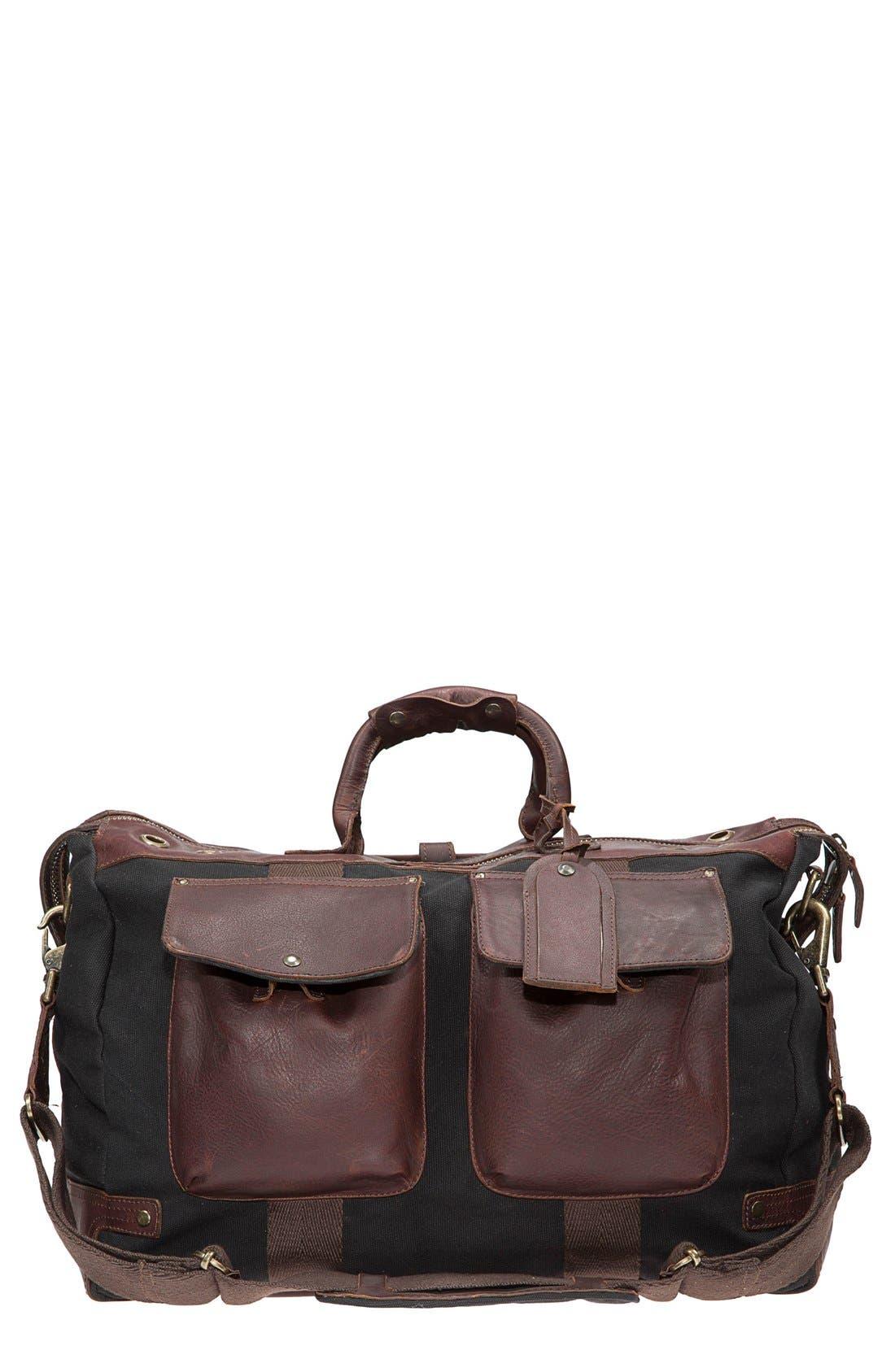 Alternate Image 5  - Will Leather Goods Traveler Duffel Bag