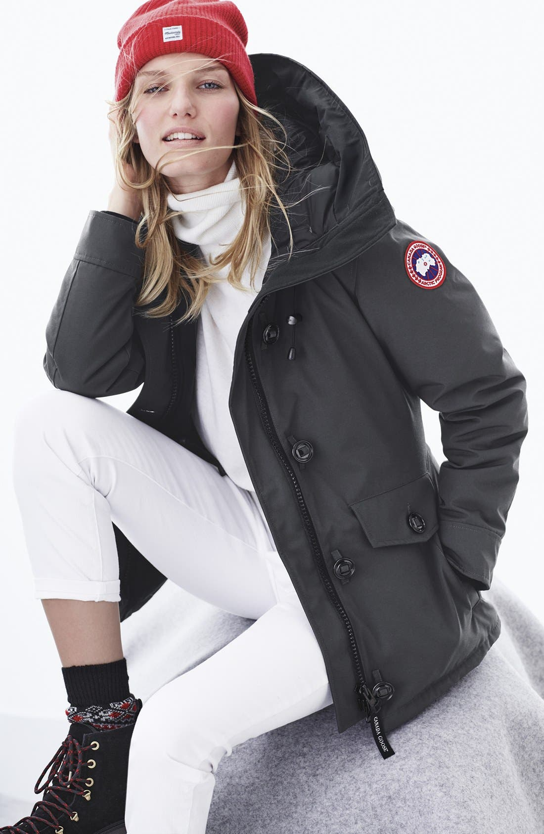 Alternate Image 3  - Canada Goose 'Rideau' Slim Fit Down Parka